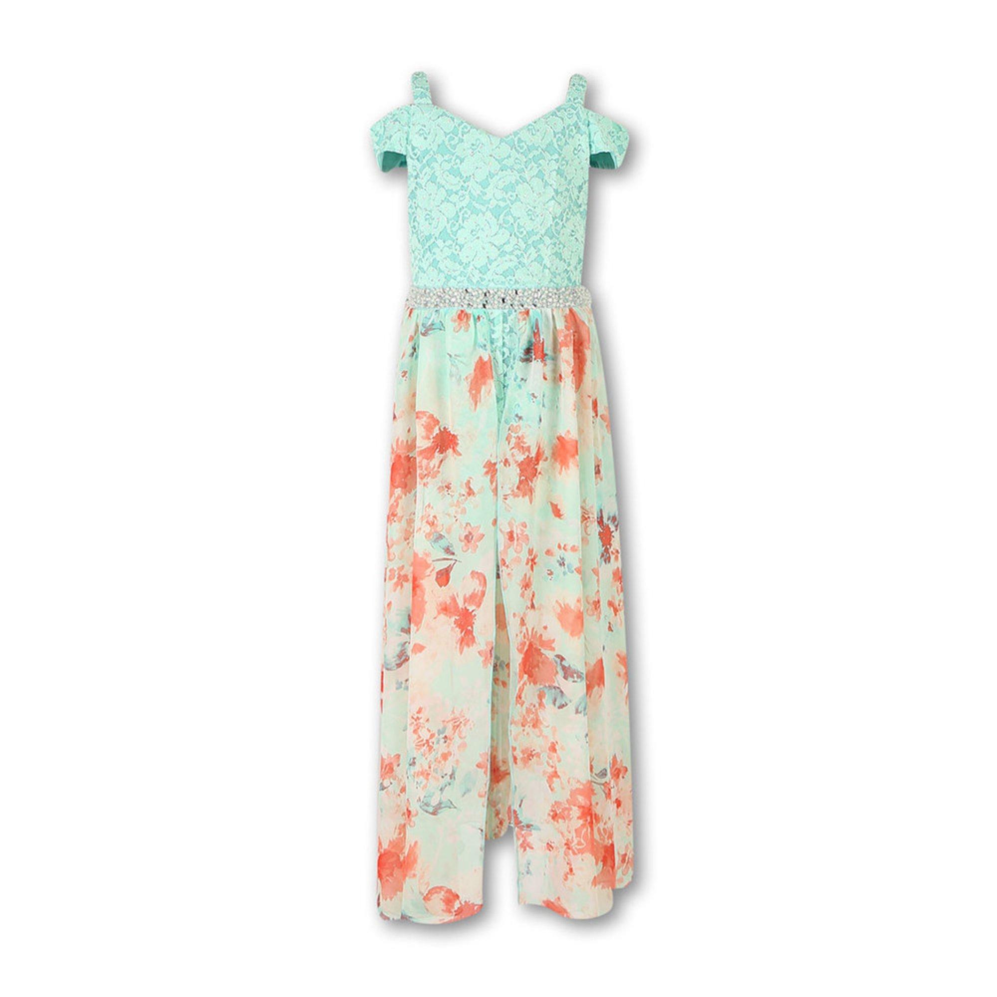 d3e4cc76d1b4 Speechless Big Girls' Floral Walkthru Easter Dress | Big Girls ...