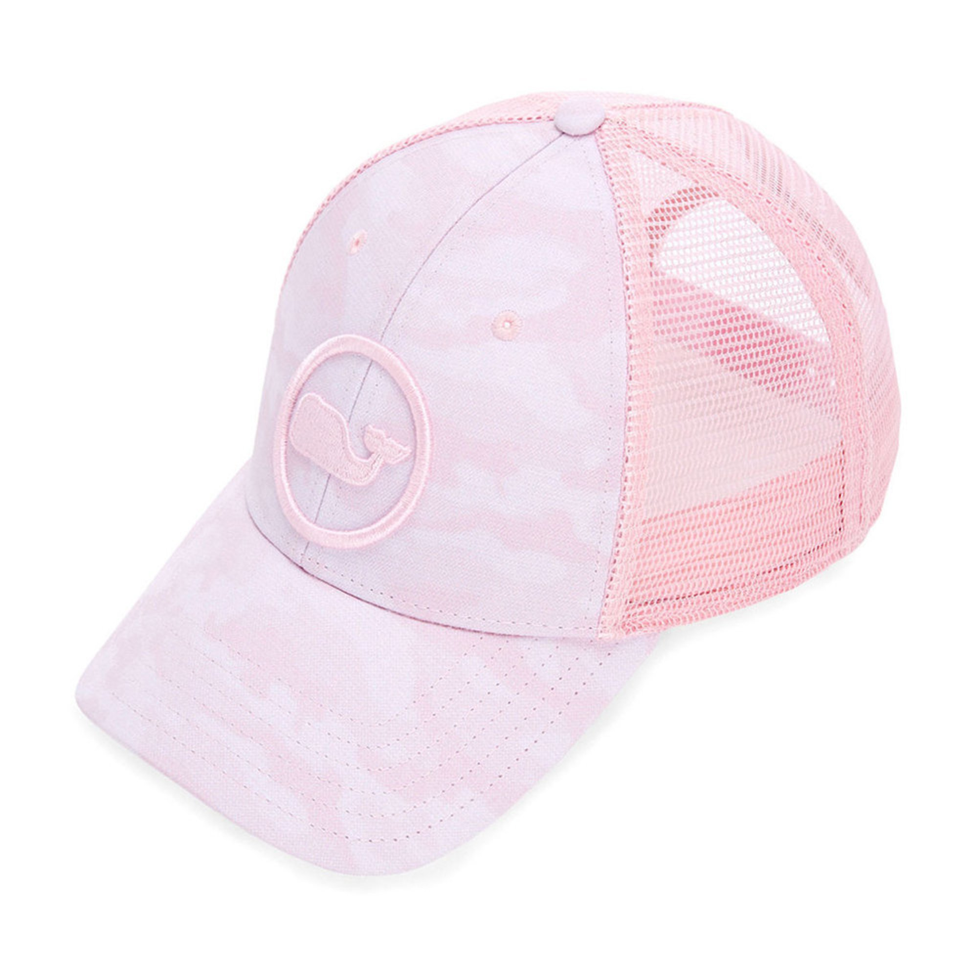 9df909d8827e Vineyard Vines Women's Pink Camo Trucker Hat | Casual & Dress Hats ...