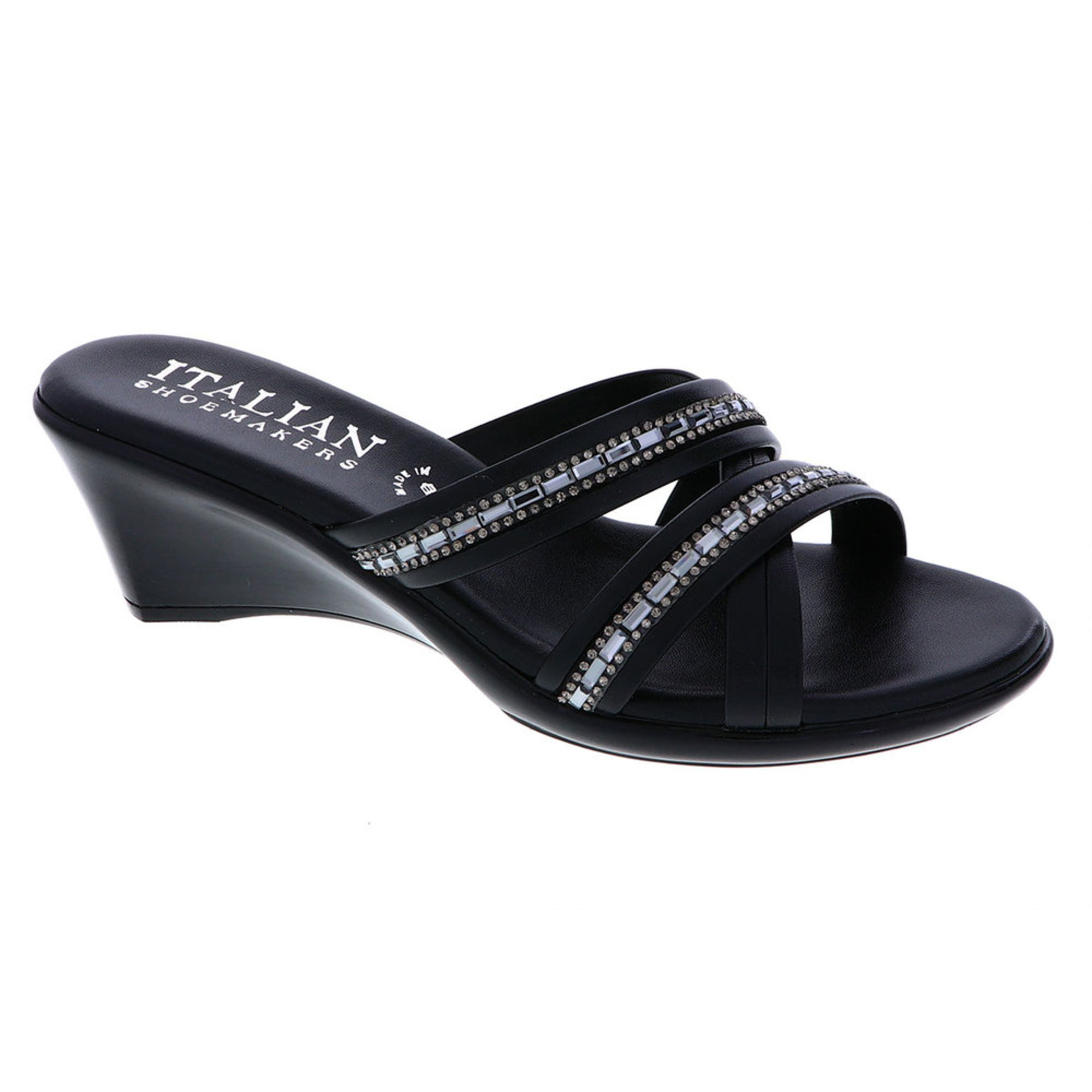 f5d761a04755 Italian Shoemakers. Italian Shoemakers Women s Passion Asymmetrical Rhinestone  Sandal