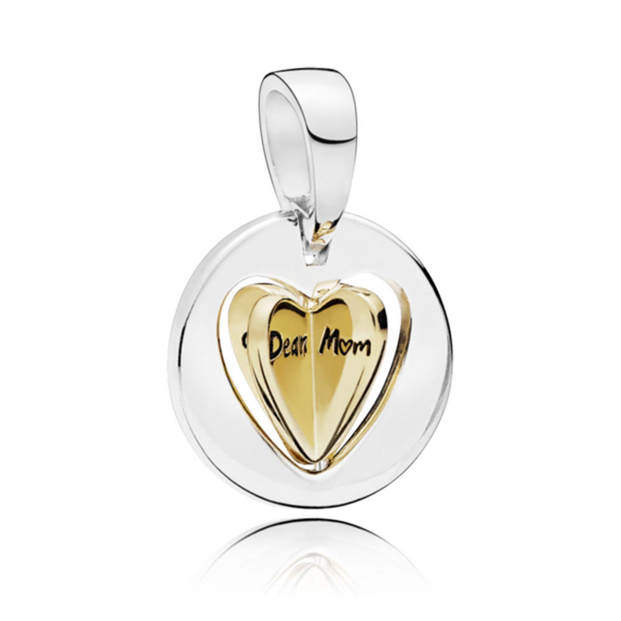 6e407d5a0 Pandora Mum's Golden Heart Pendant Charm | Charms - Shop Your Navy ...