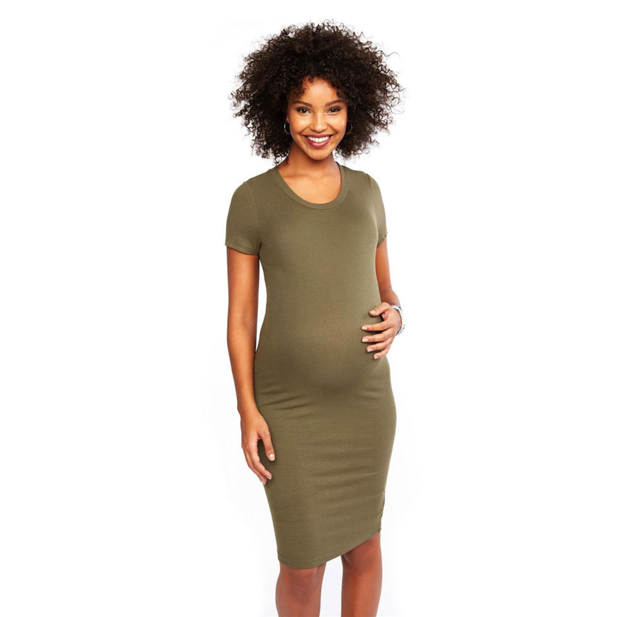 fe740c3444390 Motherhood Maternity Ribbed Dress | Maternity Dresses | Apparel ...