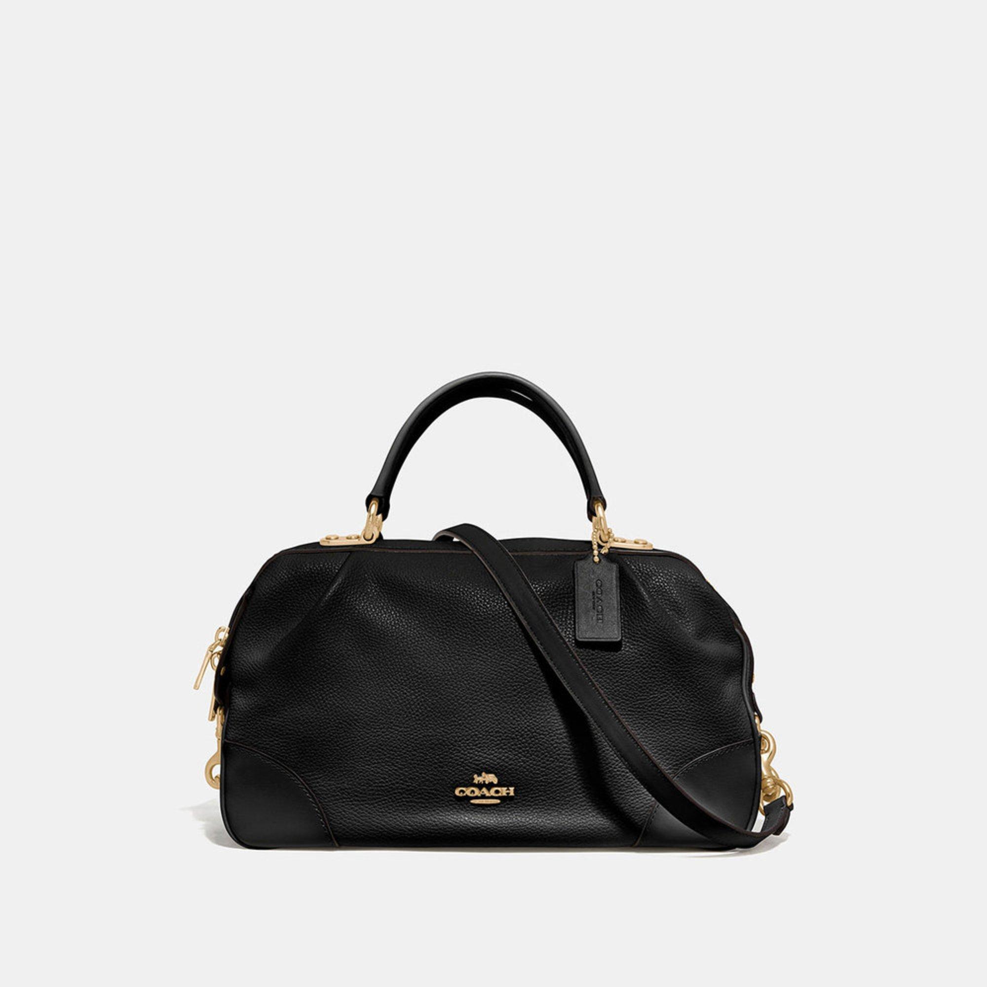 6a995411cb5f Coach Polished Pebble Leather Lane Satchel | Satchels | Handbags ...