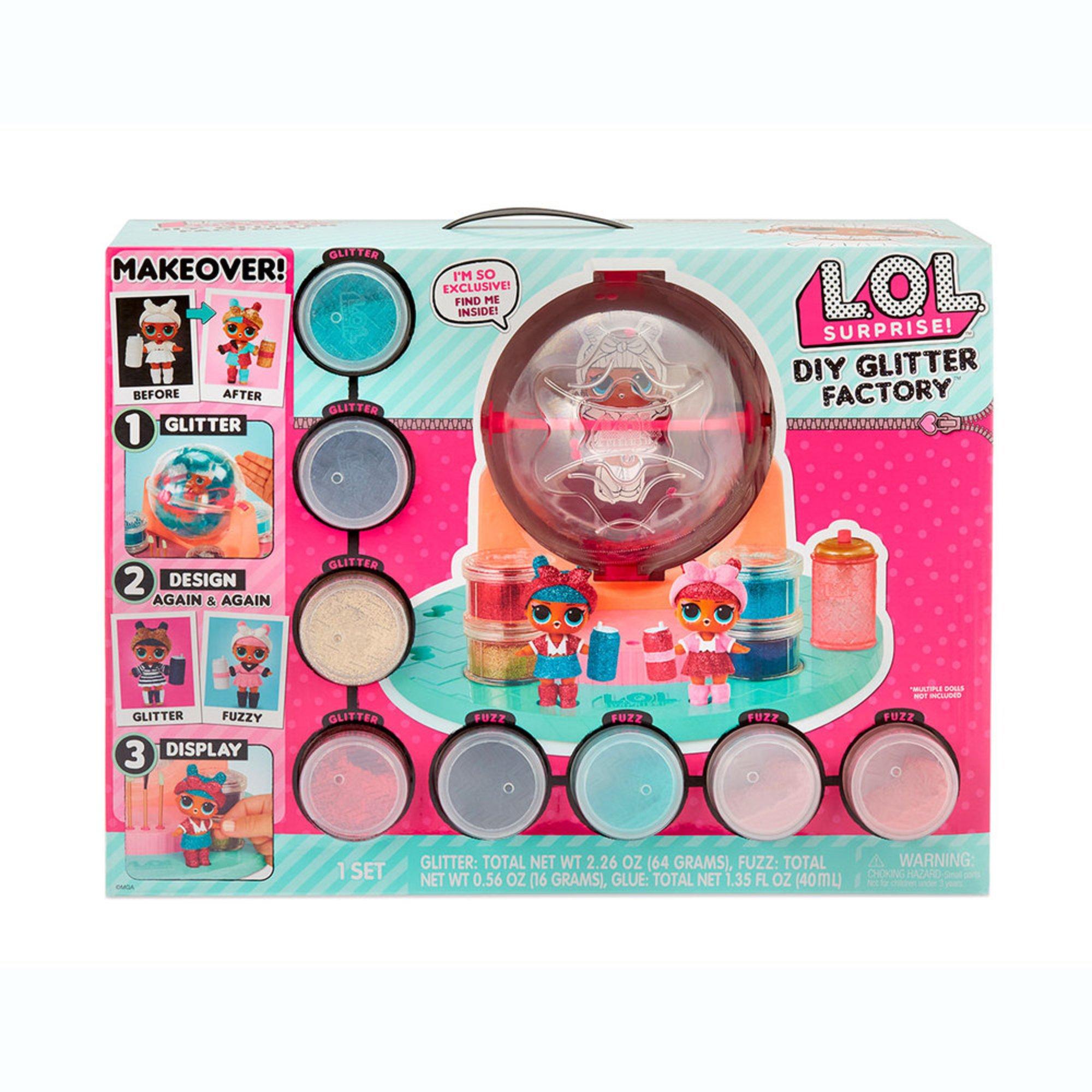 L O L Surprise Diy Glitter Factory Surprise Mystery Toys