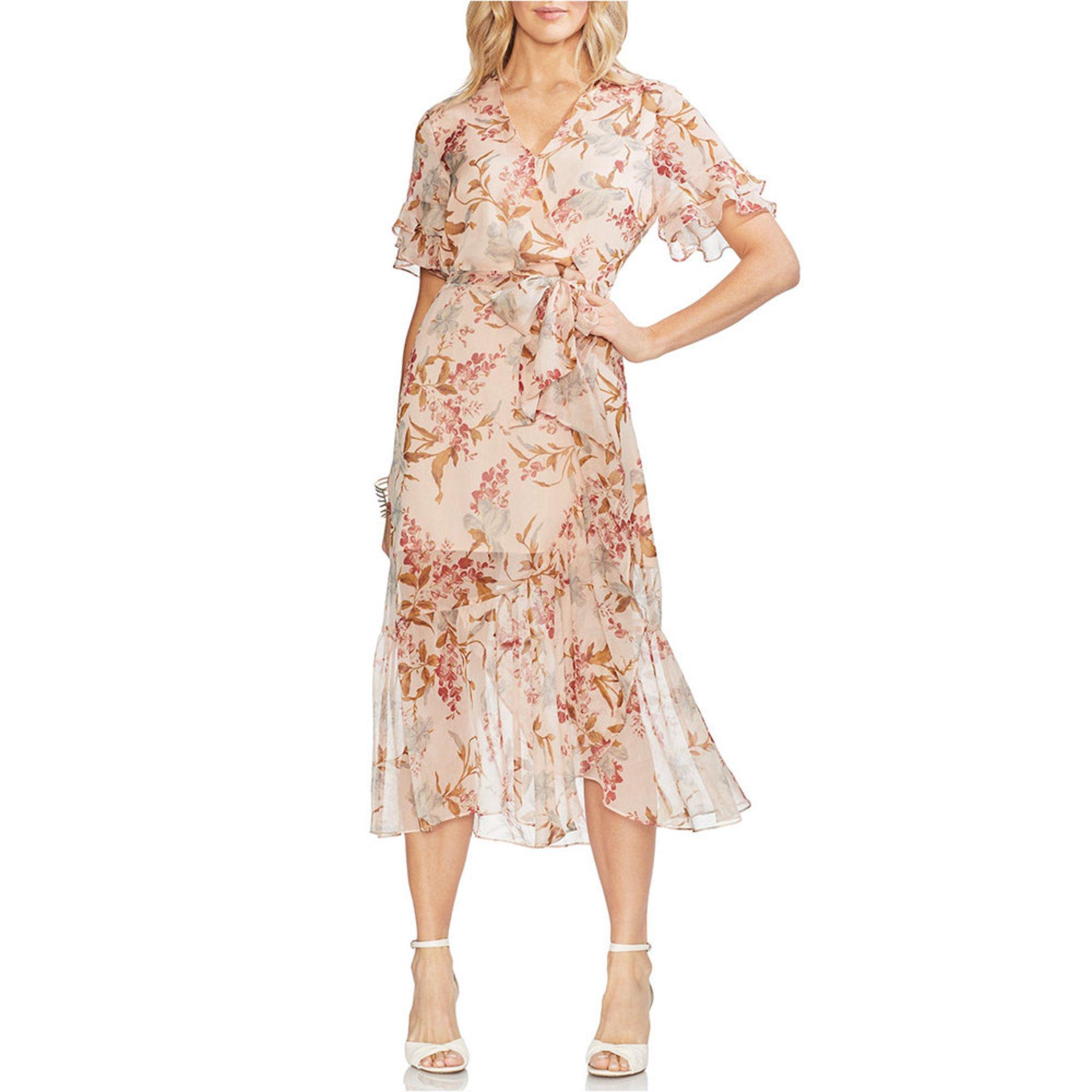 94892de384d Vince Camuto. Vince Camuto Women s Wildflower Wrap Dress
