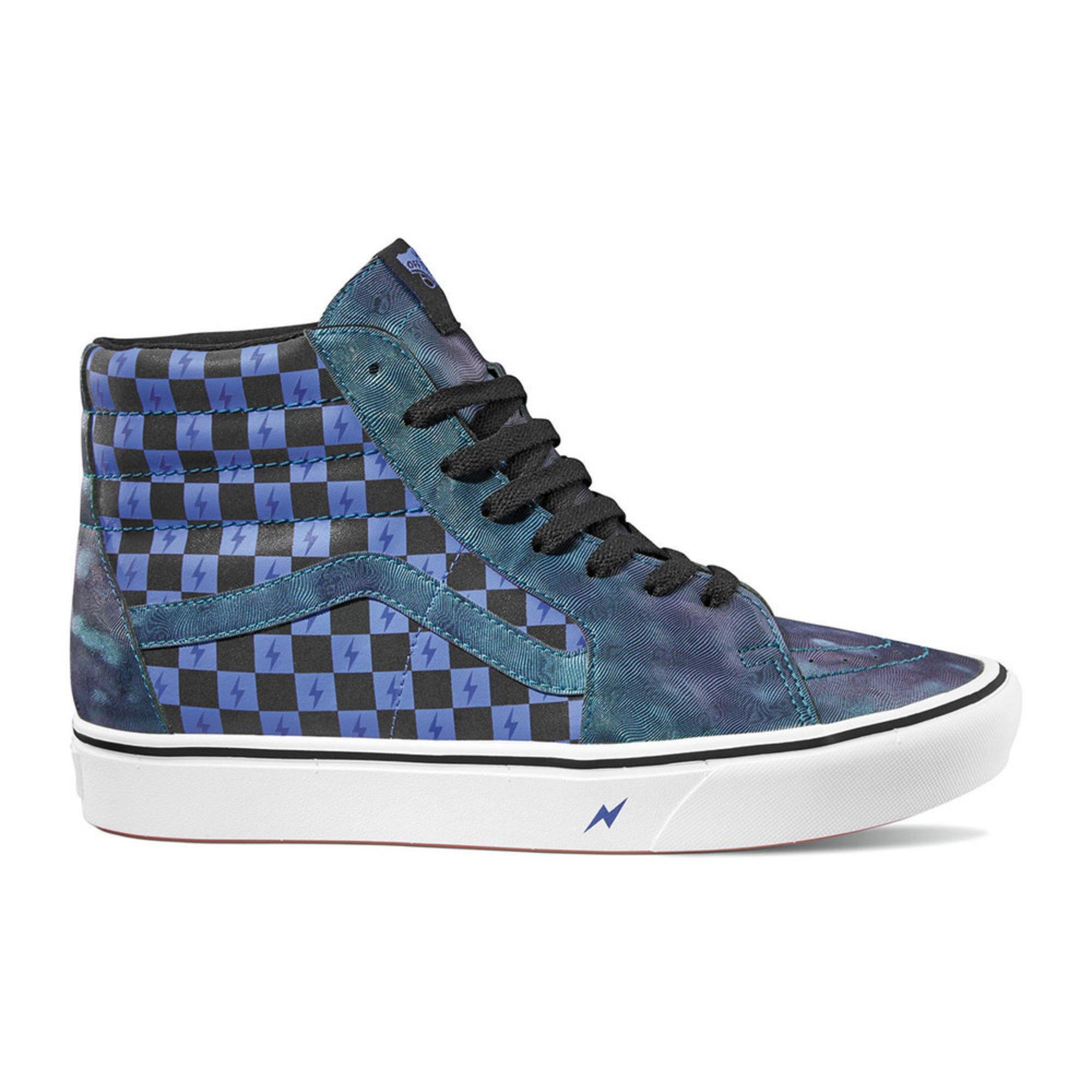 promo code d94e7 93c84 Vans Unisex Comfycush Sk8-hi Harry Potter Collection Skate Shoe ...