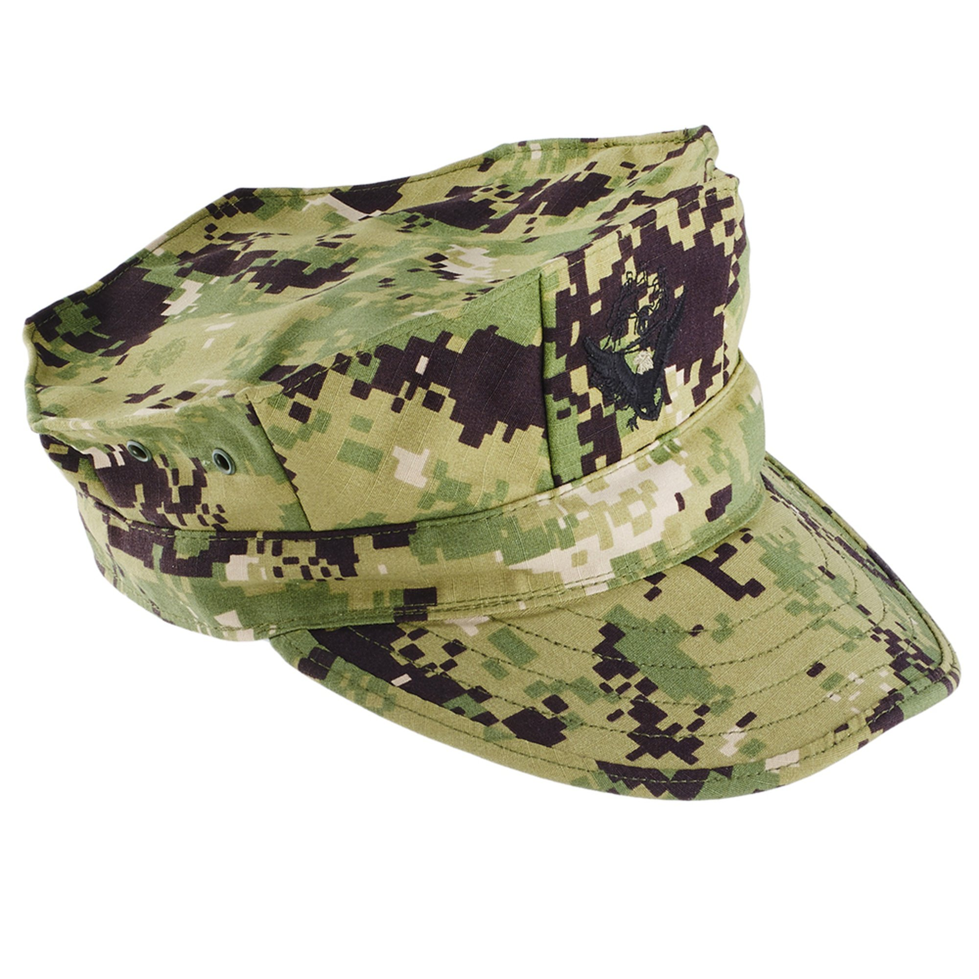 Type-iii 8 Point Woodland Cap With Ace   Navy Working