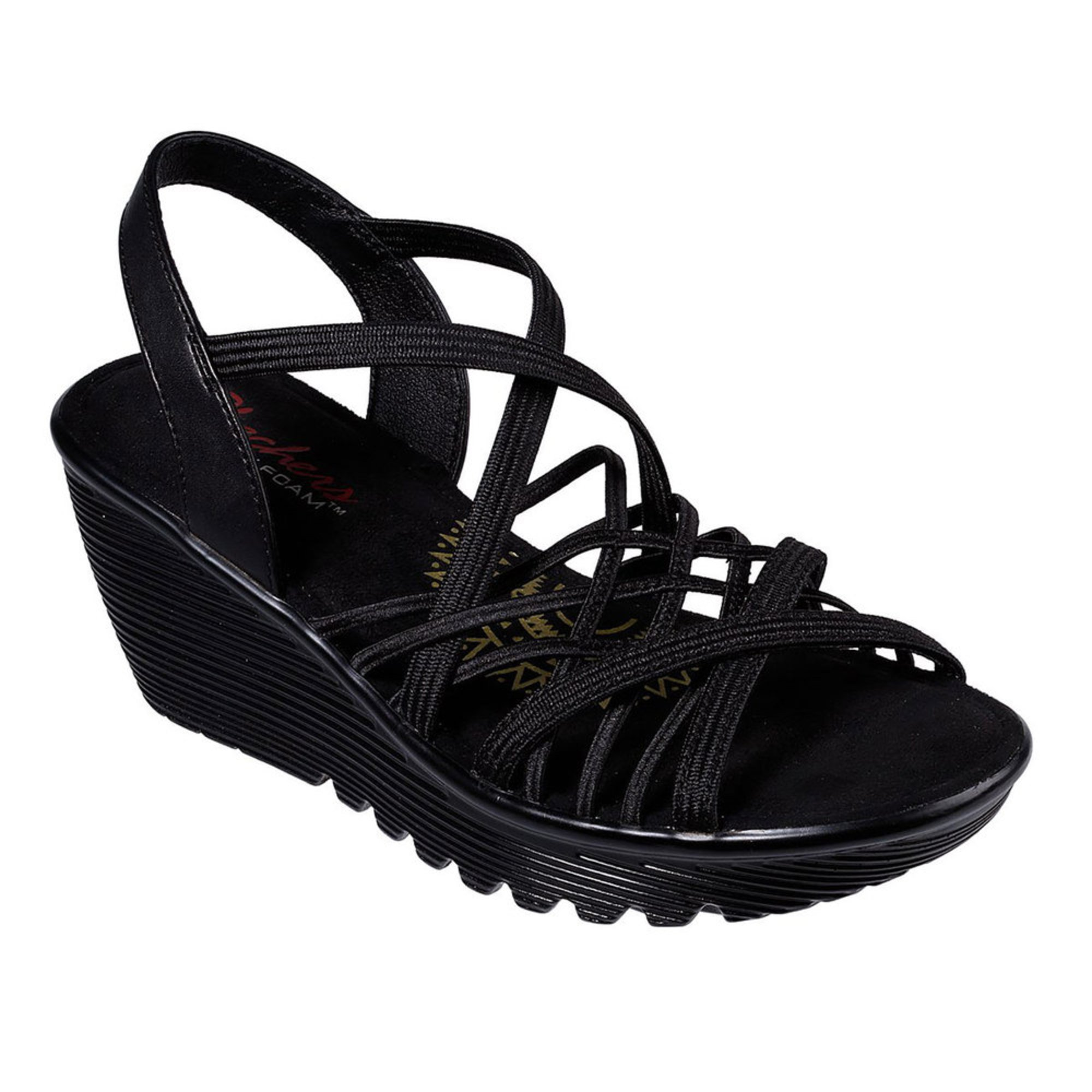 0c83f7b9eb Skechers Modern Comfort. Skechers Women's Modern Comfort Crossed Wires Wedge  Sandal