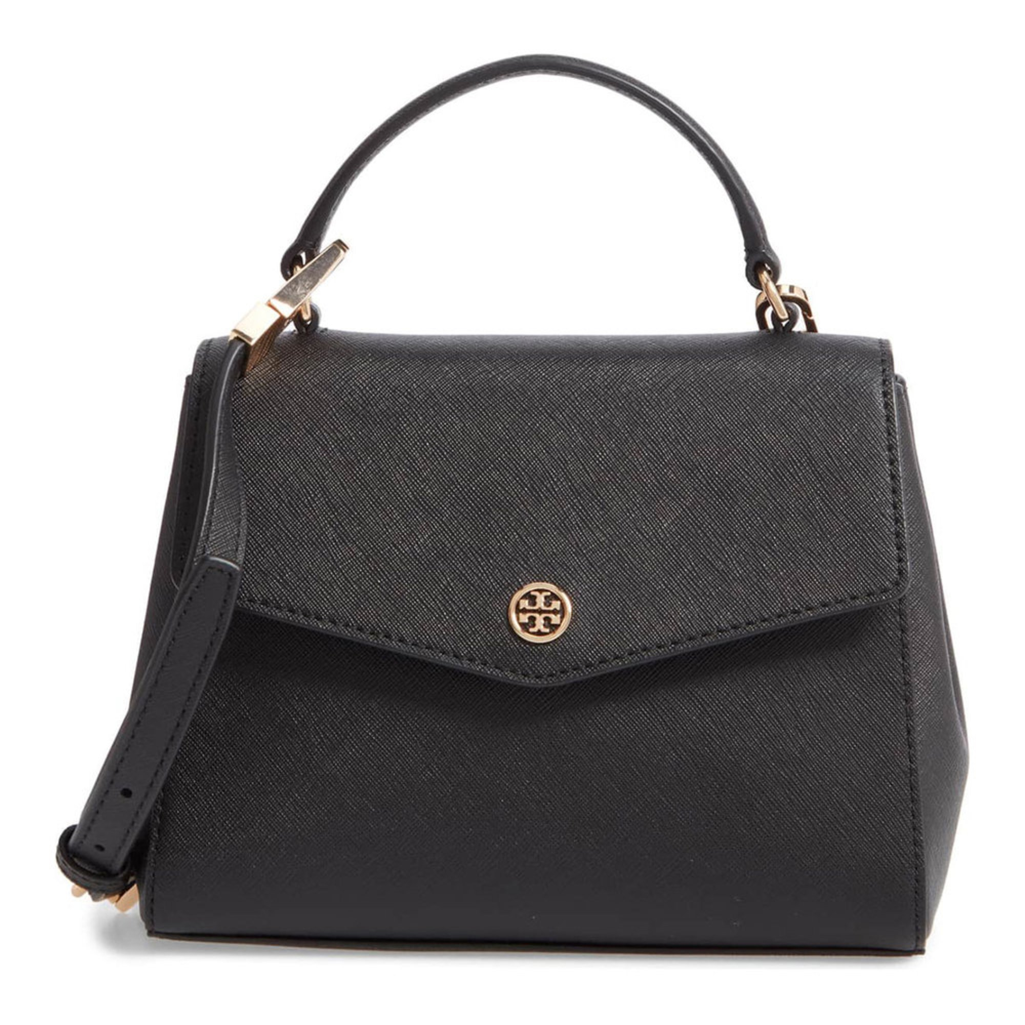 a1a88b0ee5 Tory Burch Robinson Small Top Handle Satchel   Satchels   Handbags ...