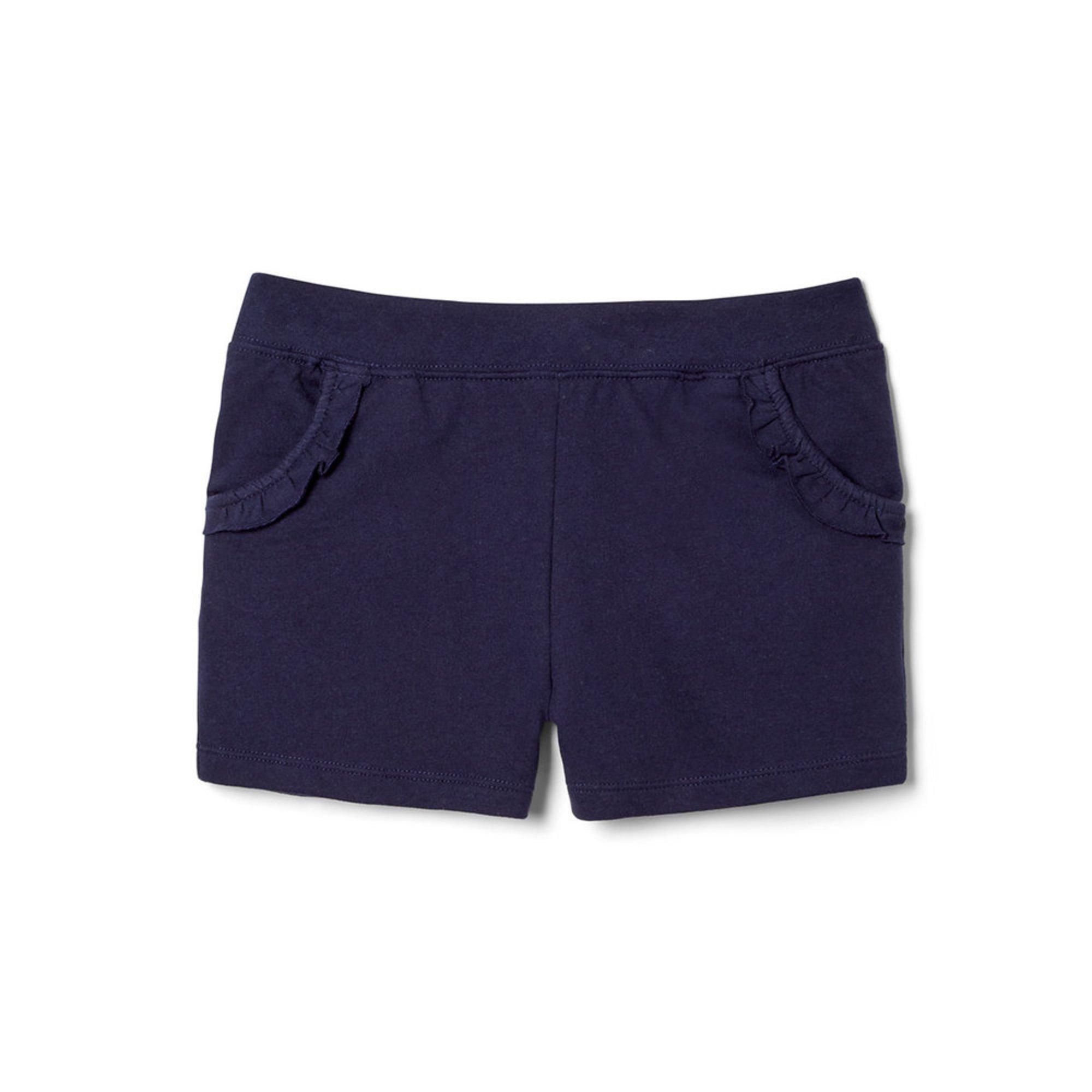 Yarn & Sea Little Girls' Ruffle Knit Shorts | Little Girls
