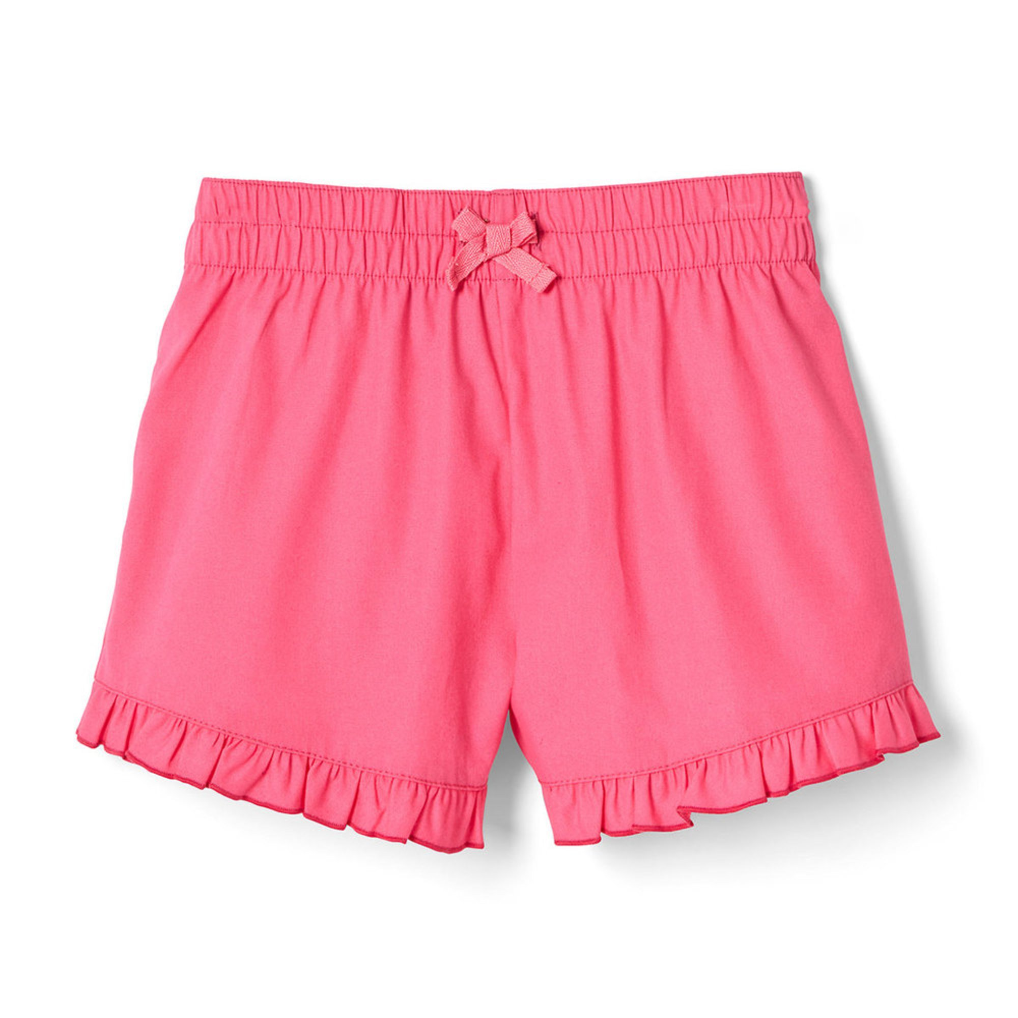 Yarn & Sea Big Girls' Ruffle Woven Shorts | Big Girls
