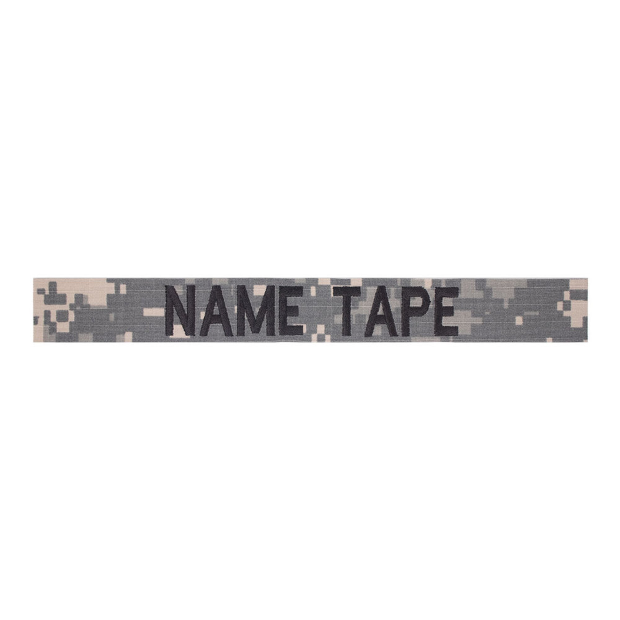 Army Acu Nametape Black Thread | Army | Military - Shop Your