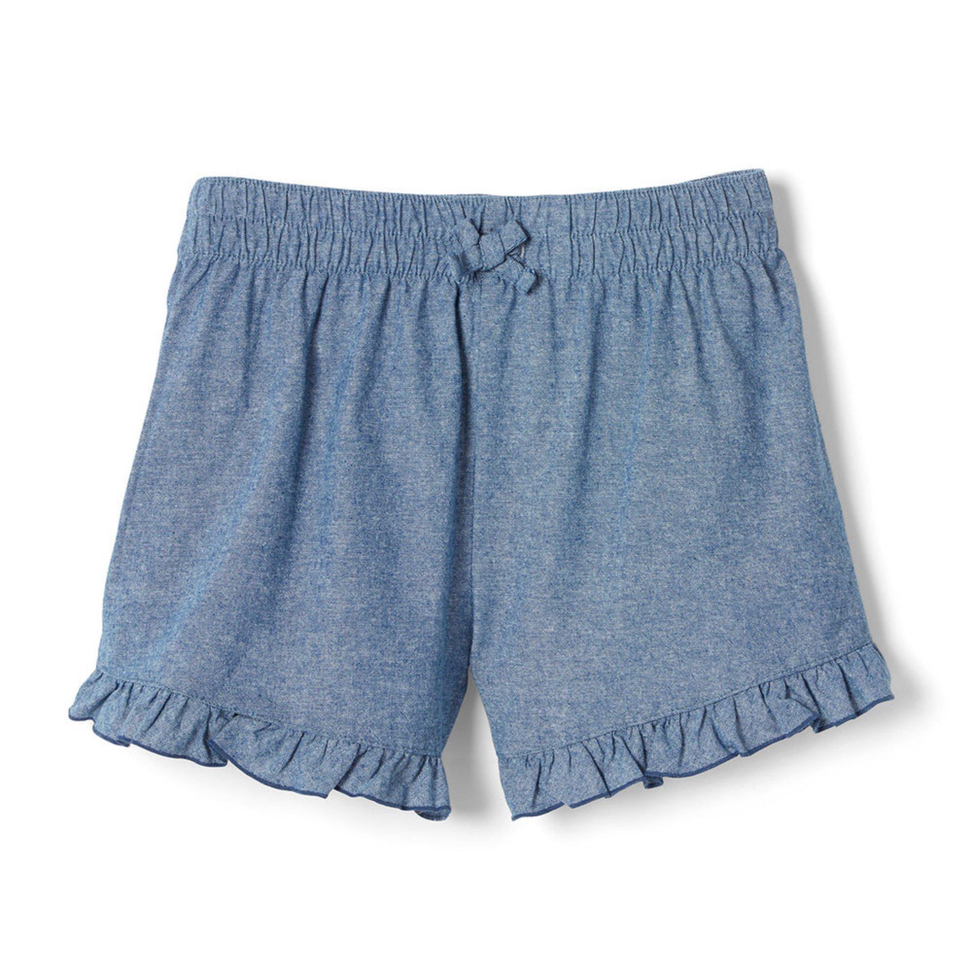 Yarn & Sea Toddler Ruffle Woven Shorts | Little Girls' 2t-6x