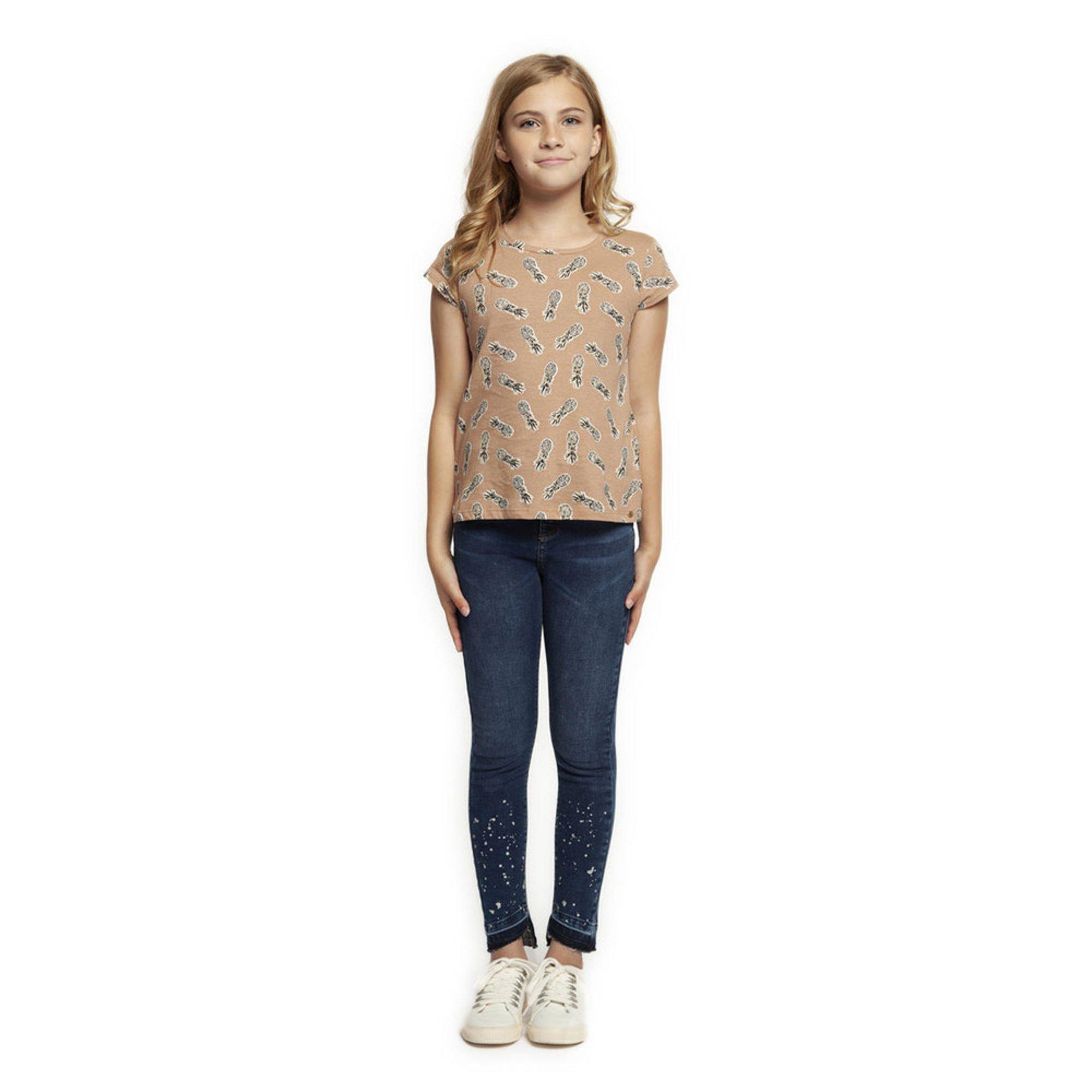 045b99ec Dex Big Girl's' Denim Pants With Foil Detail | Big Girls' Pants ...