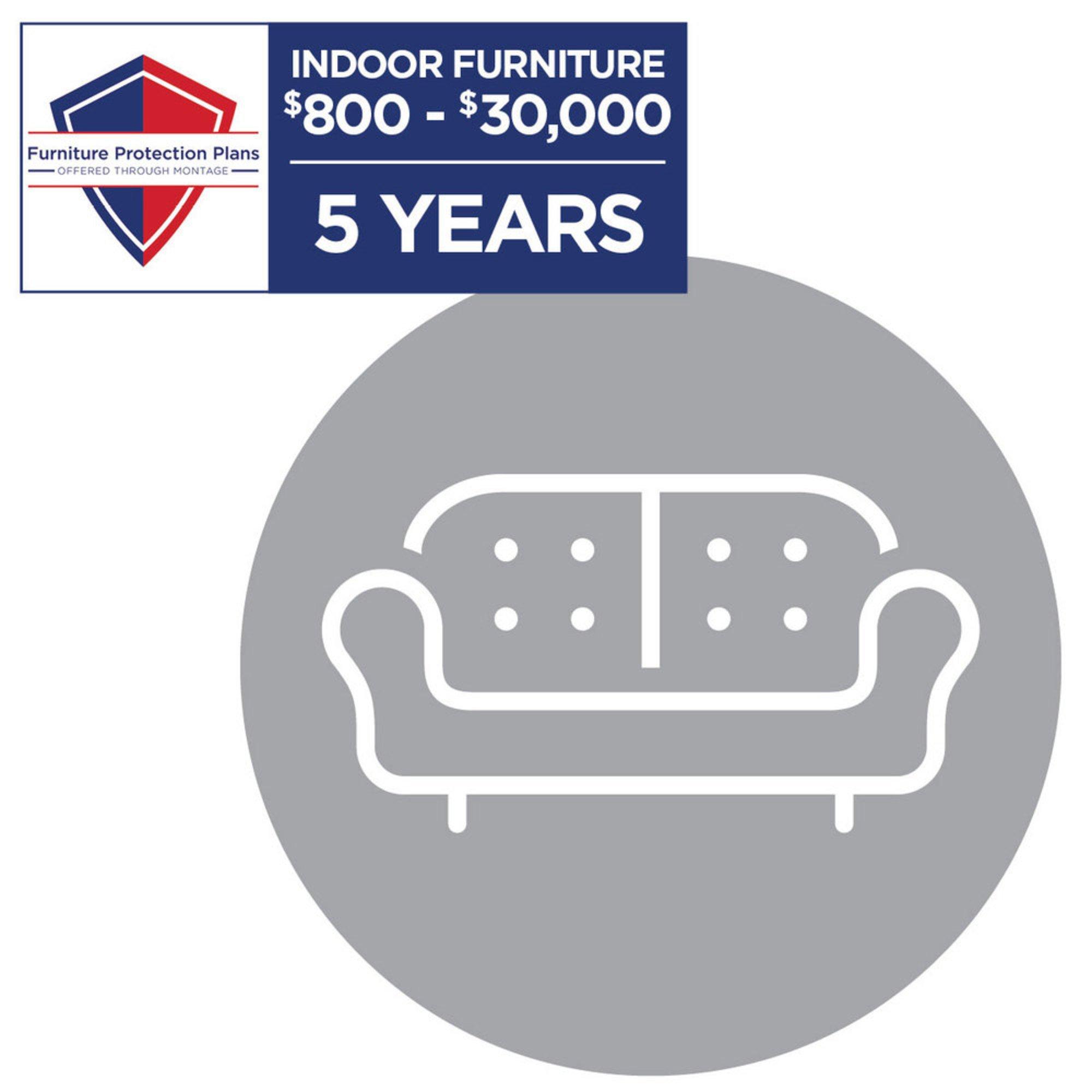 Montage 11 Year Indoor Furniture Plan, $11-$11,11  Montage