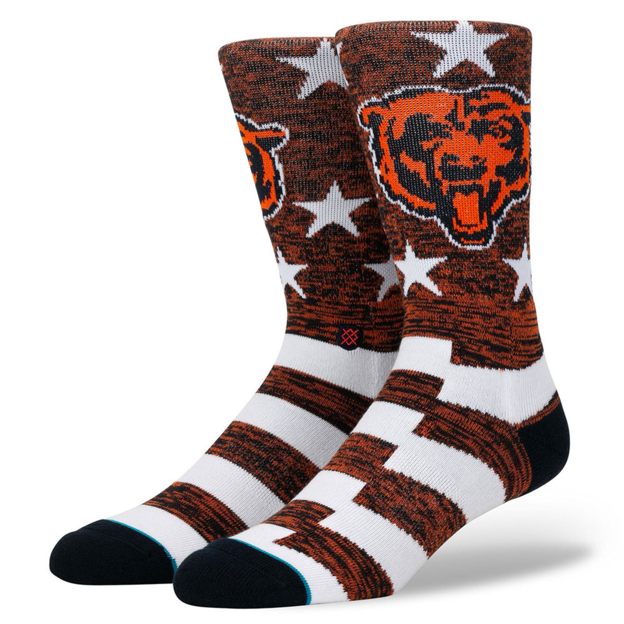 the latest e59d1 44993 Stance Men Chicago Bears Banner Sock | Men's Socks | Apparel ...