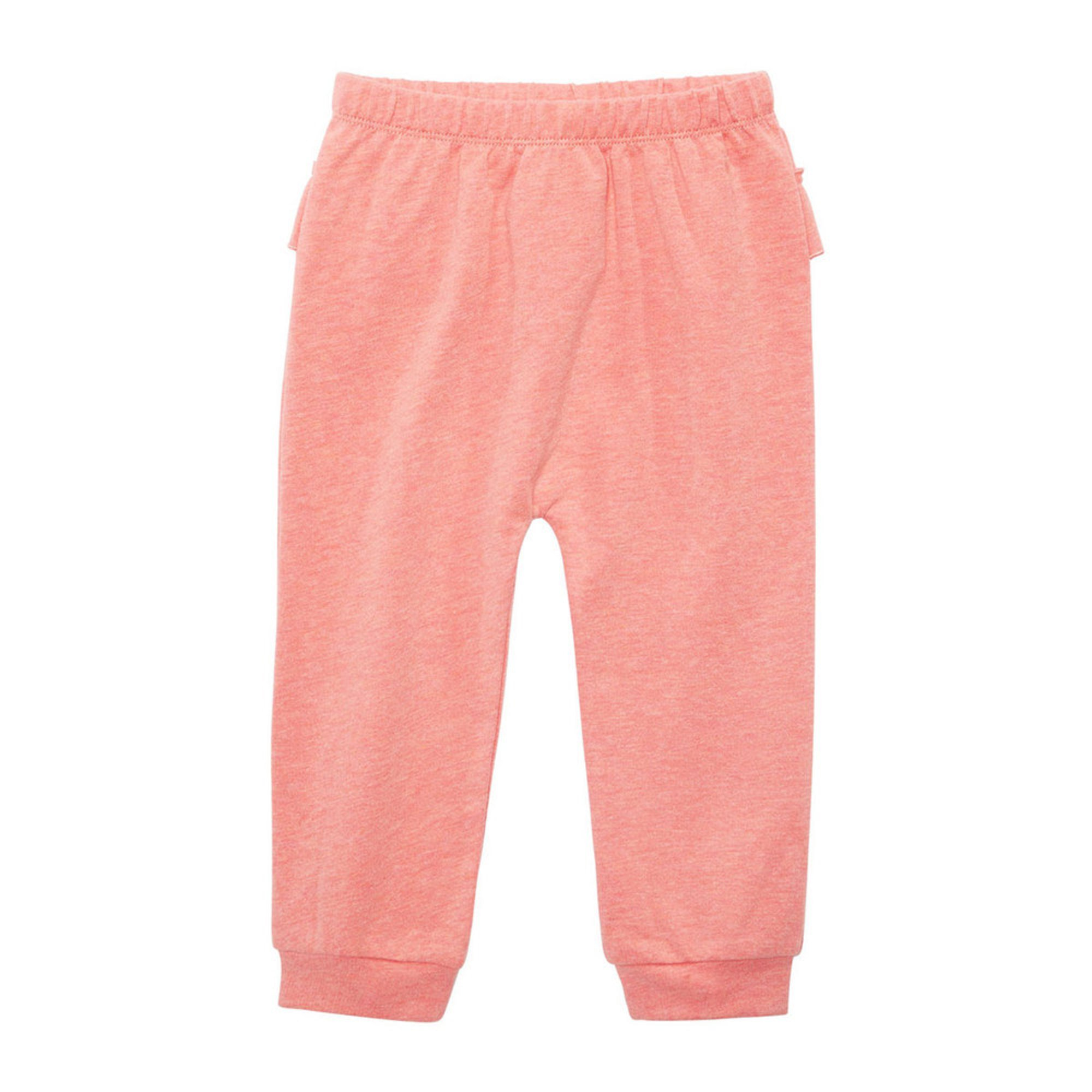First Impressions Baby Girls Ruffle Back Joggers Baby Clothing