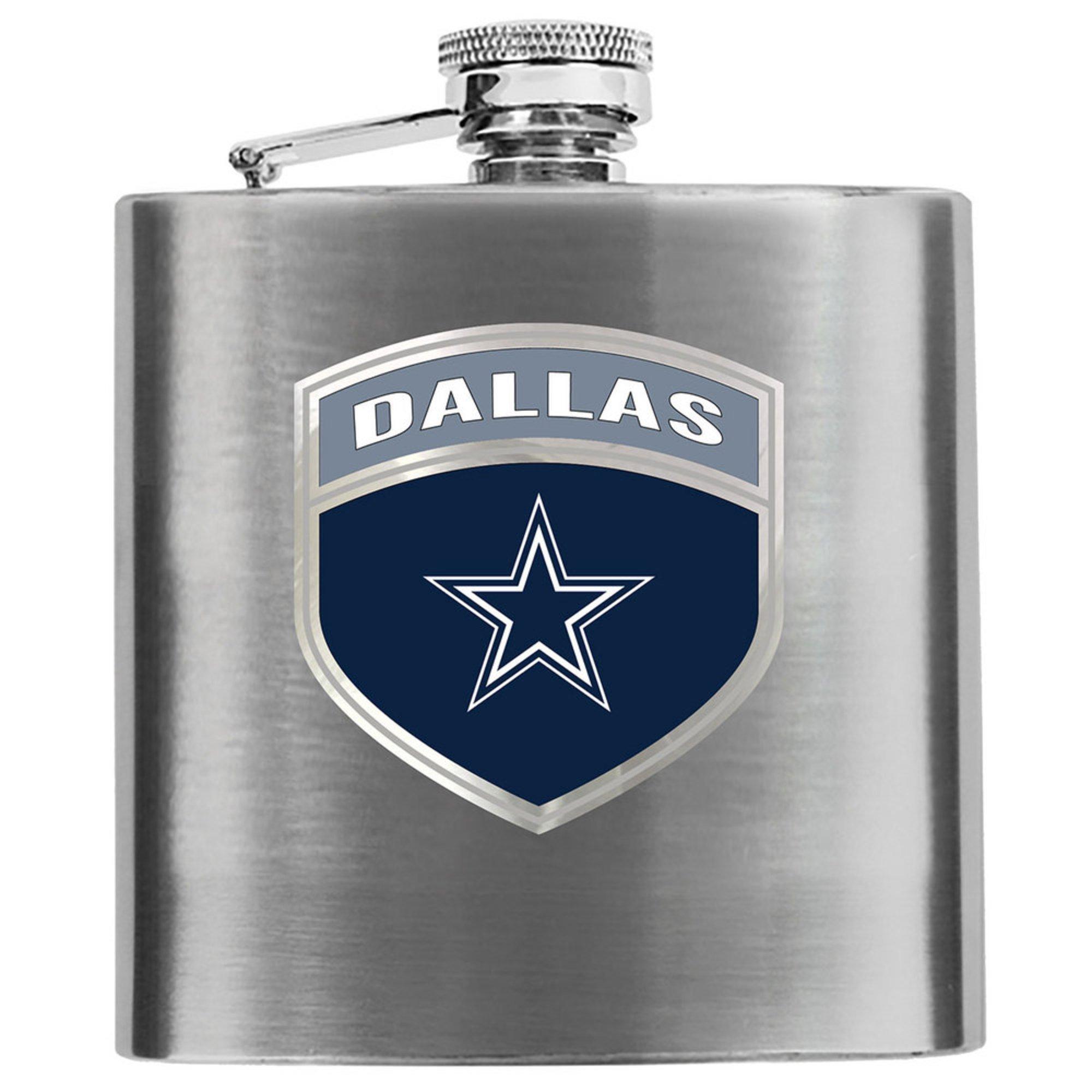 pretty nice 8d1de 73450 Great American Products Dallas Cowboys 6 Oz Hip Flask ...