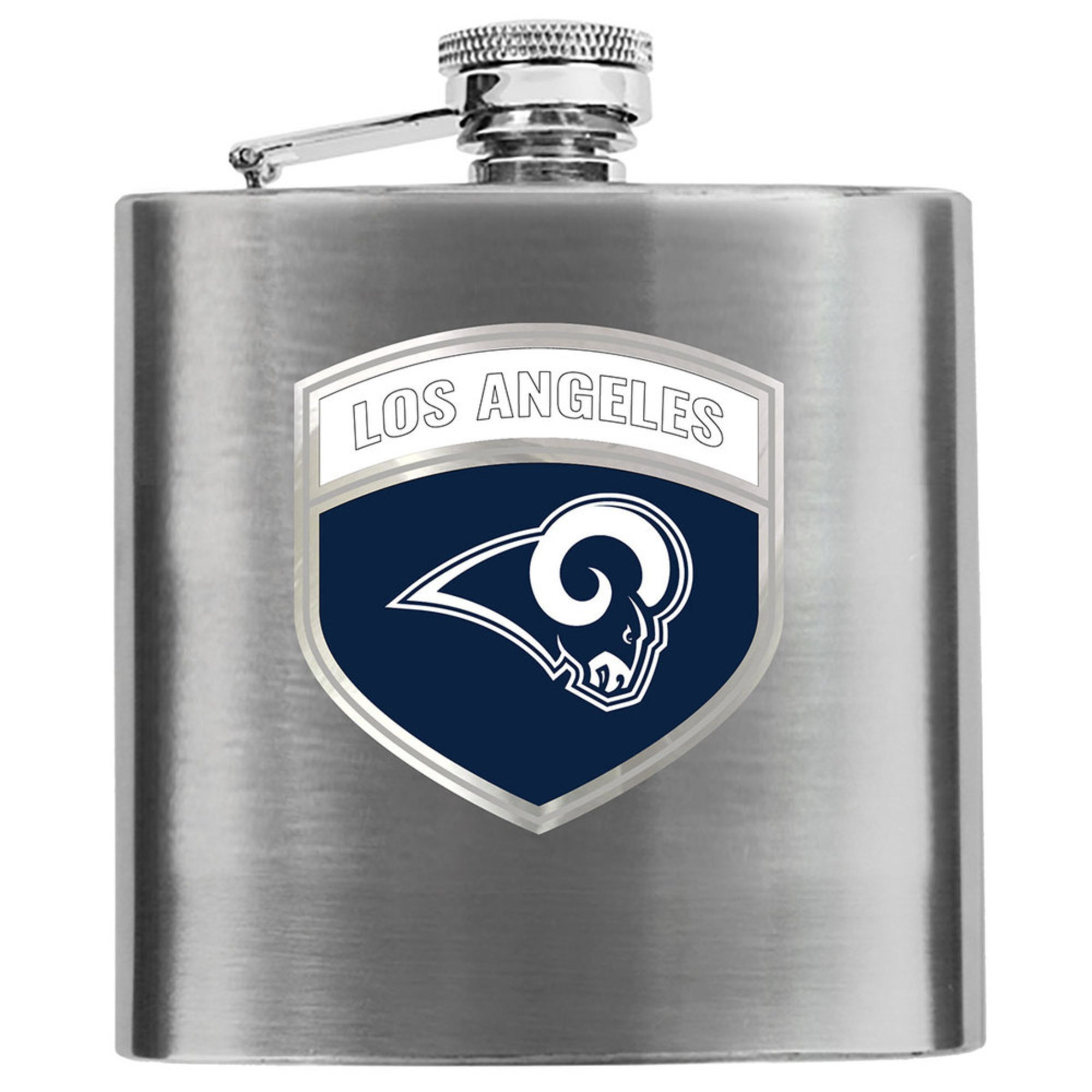 san francisco ee5b5 1cfc0 Great American Products Los Angeles Rams 6 Oz Hip Flask ...