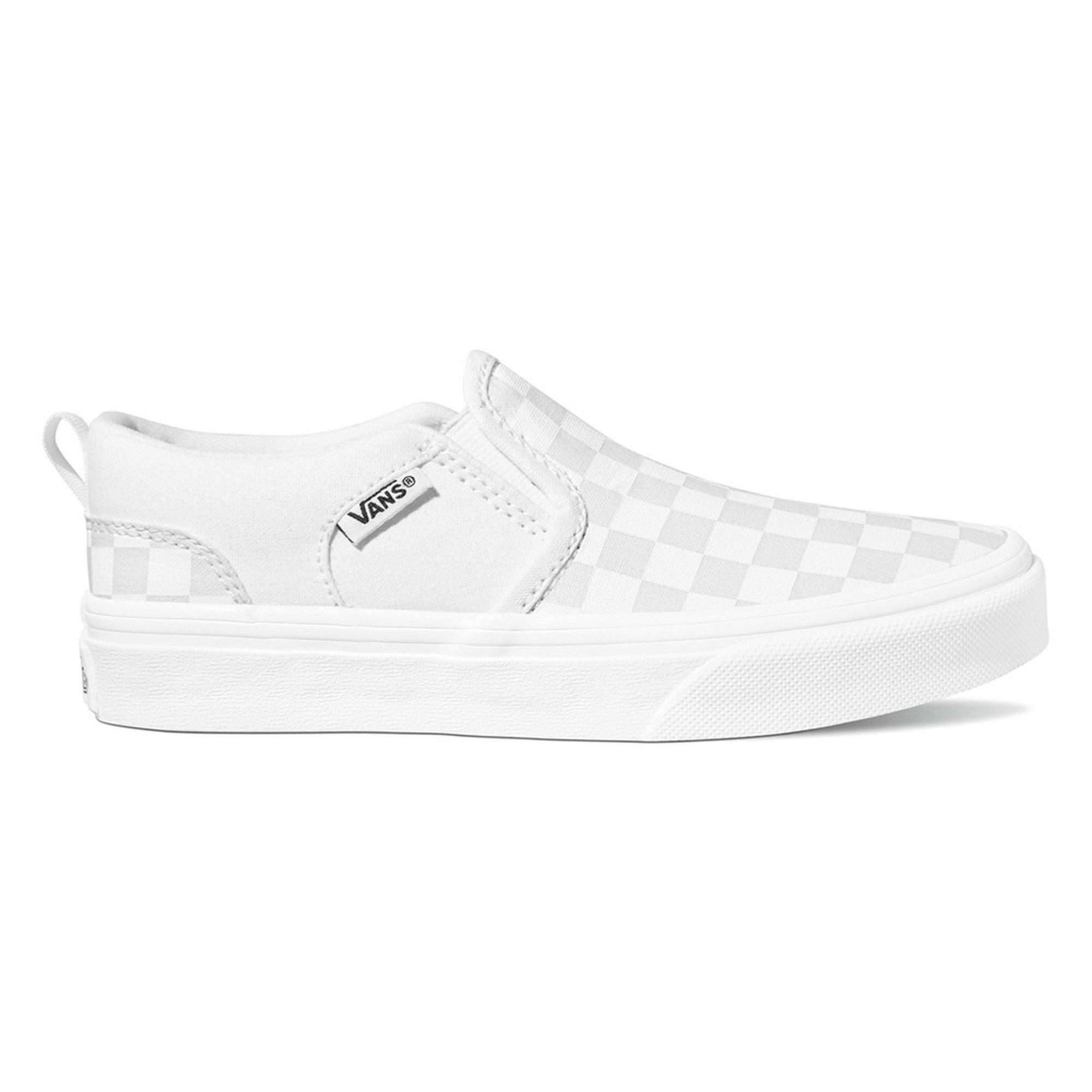 Vans Little Boys' Asher Checkered Slip