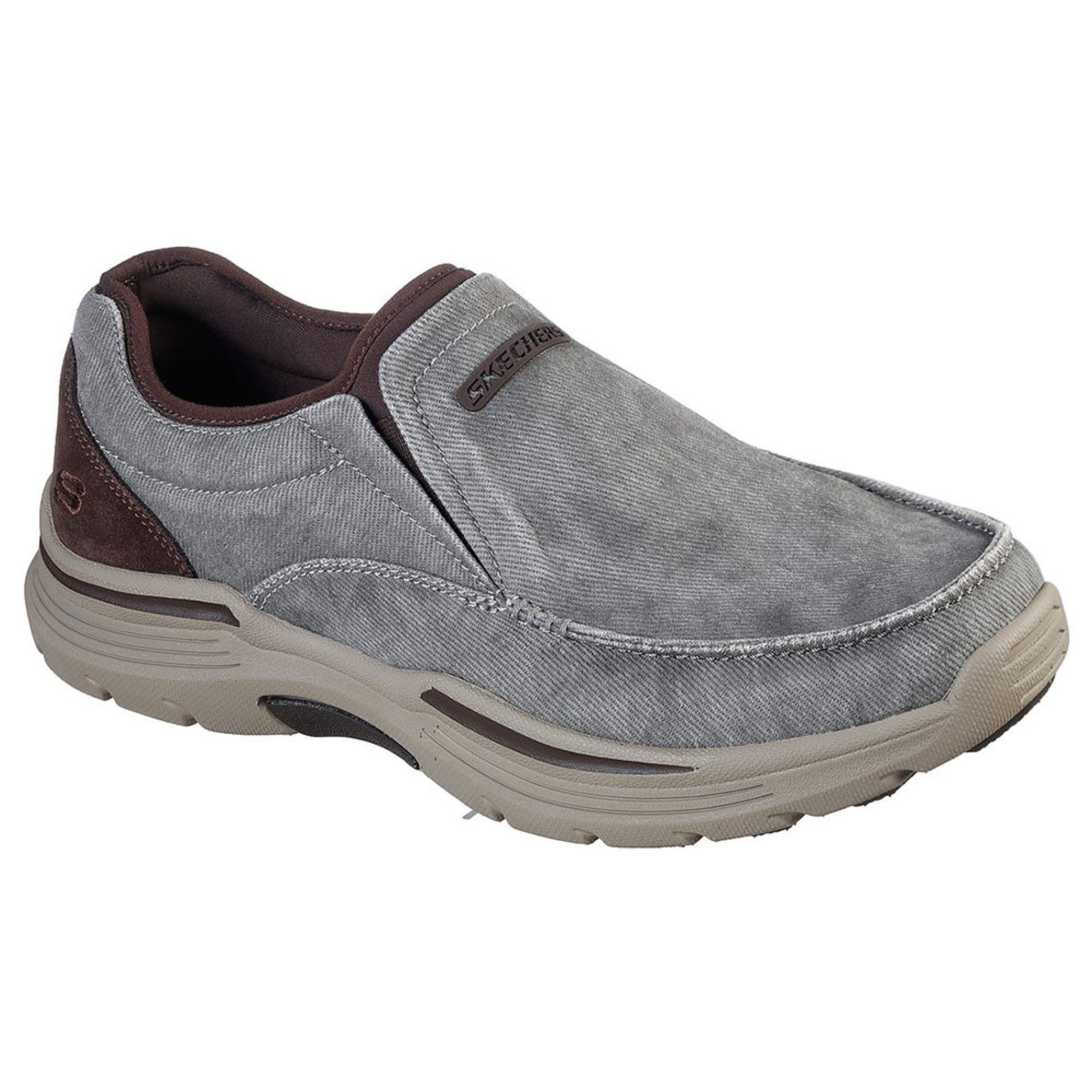 Expended Relfen Casual Canvas Slip-on