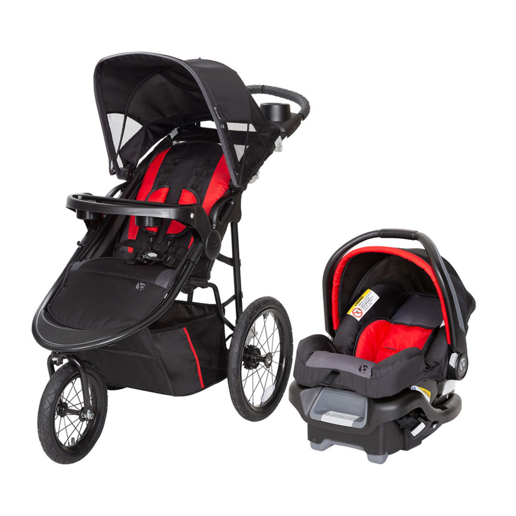 Baby Trend Pro Steer Jogger Travel System   Travel Systems ...