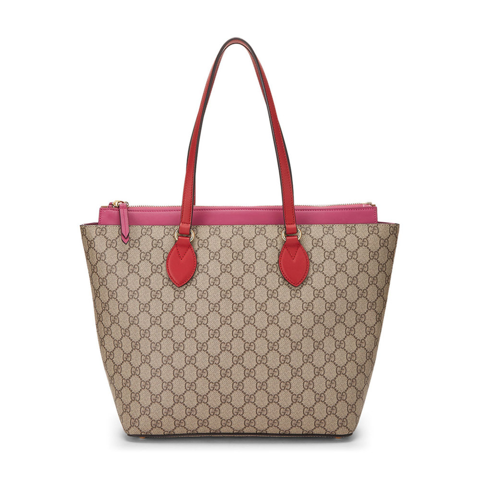 Gucci Pink Coasted Canvas 415721 Handbags Accessories