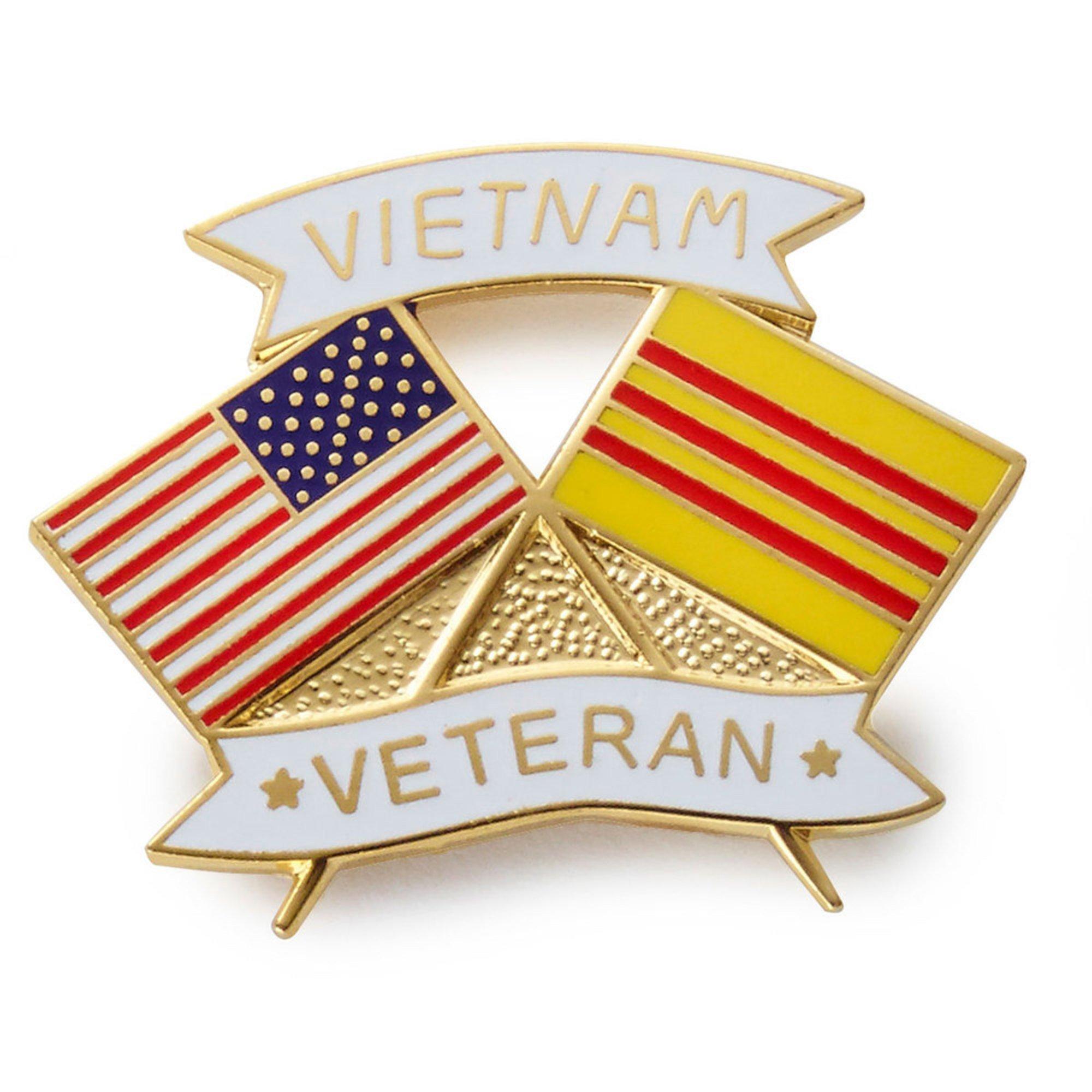 Mitchell Proffitt Vietnam Usa Flag Lapel Pin   Navy Veterans