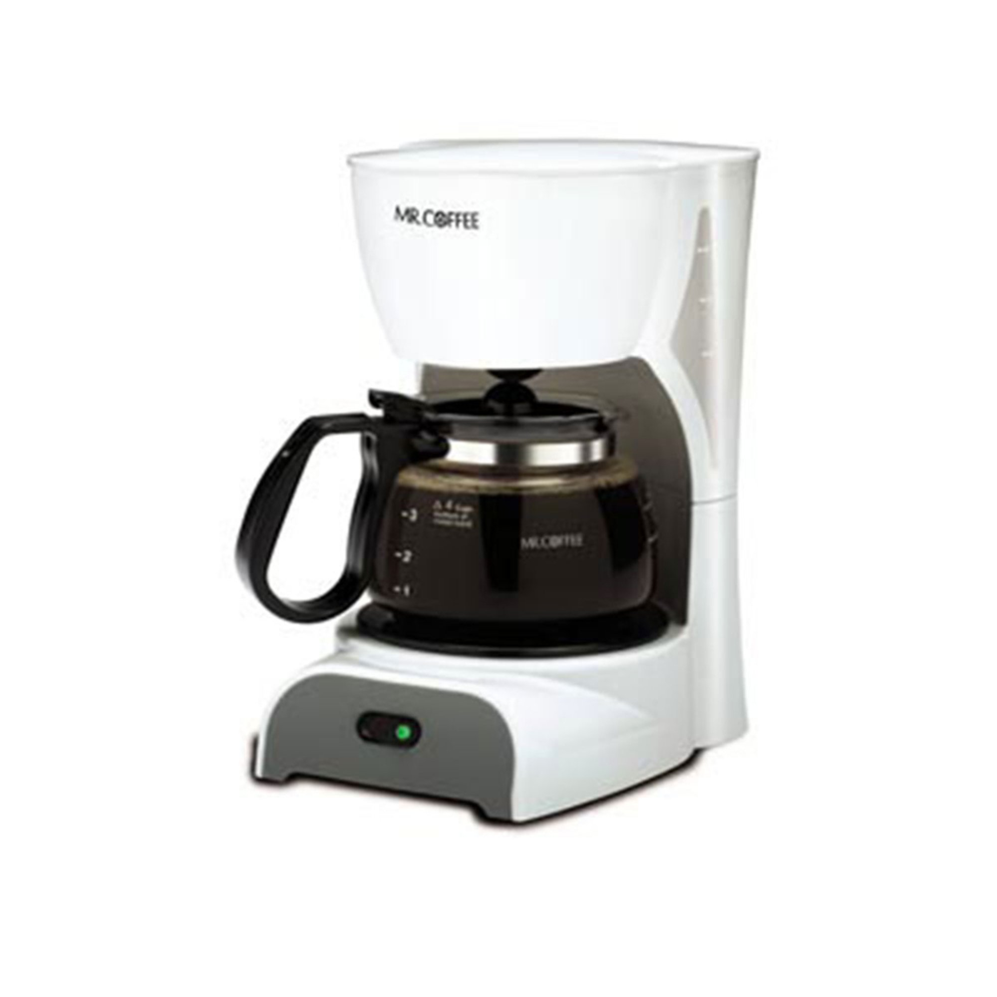Mr. Coffee 4-cup Coffeemaker, White (dr4-np) Coffee Makers For The Home - Shop Your Navy ...