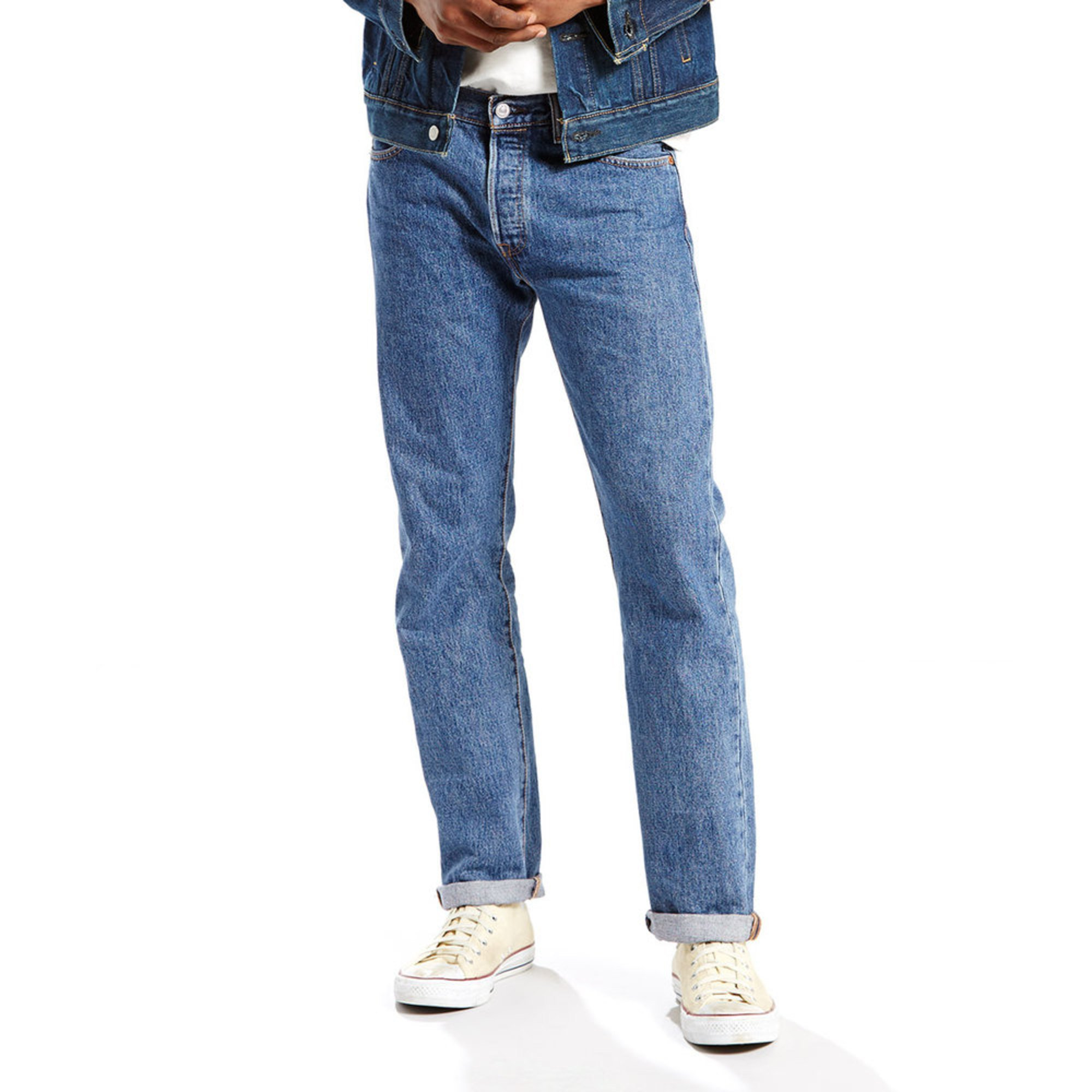 Levi's Men's 501 Original-fit Stonewash Jeans 36x32 ... - photo #14