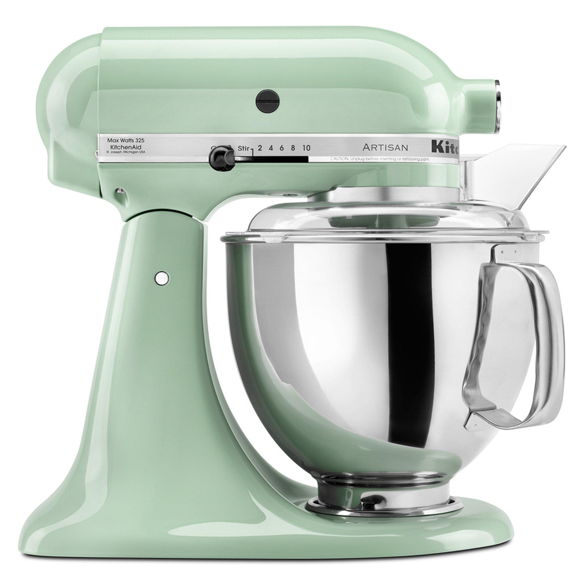 Kitchenaid artisan series 5 quart tilt head stand mixer pistachio ksm150pspt stand mixers - Kitchenaid artisan qt stand mixer sale ...