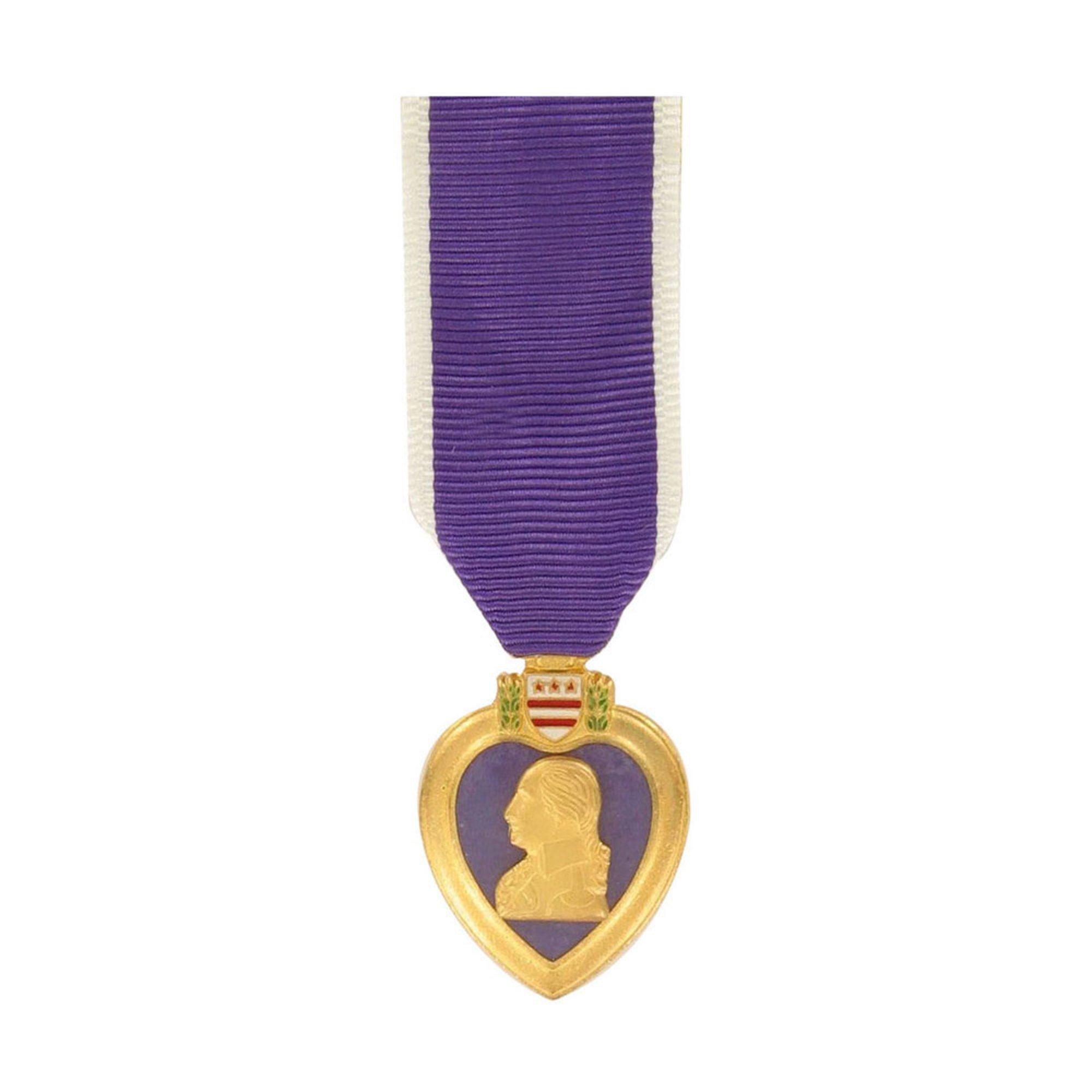Medal Miniature Purple Heart | Miniature Medals | Military - Shop