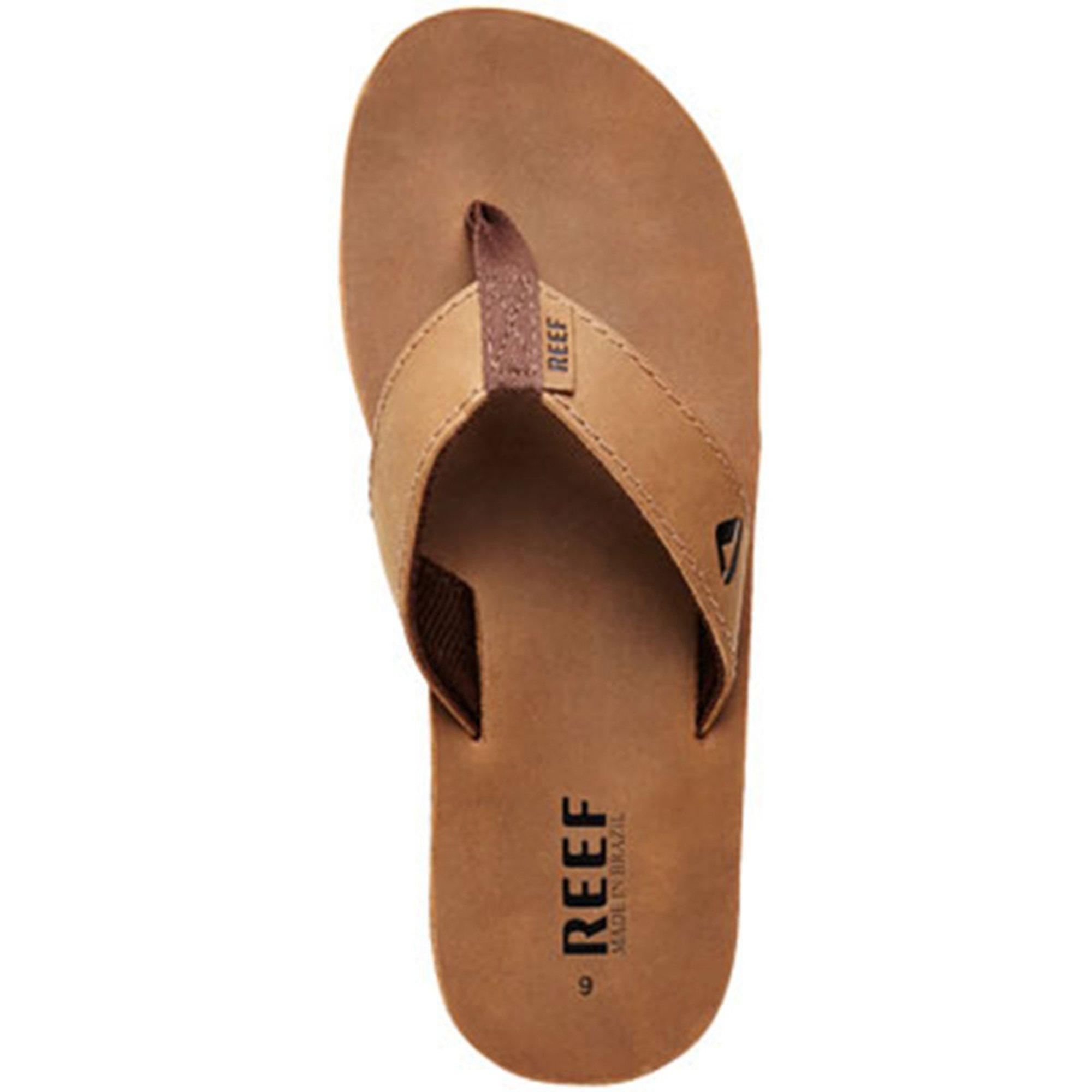 6c4630b71552 Reef Men s Leather Smoothy Thong Sandal