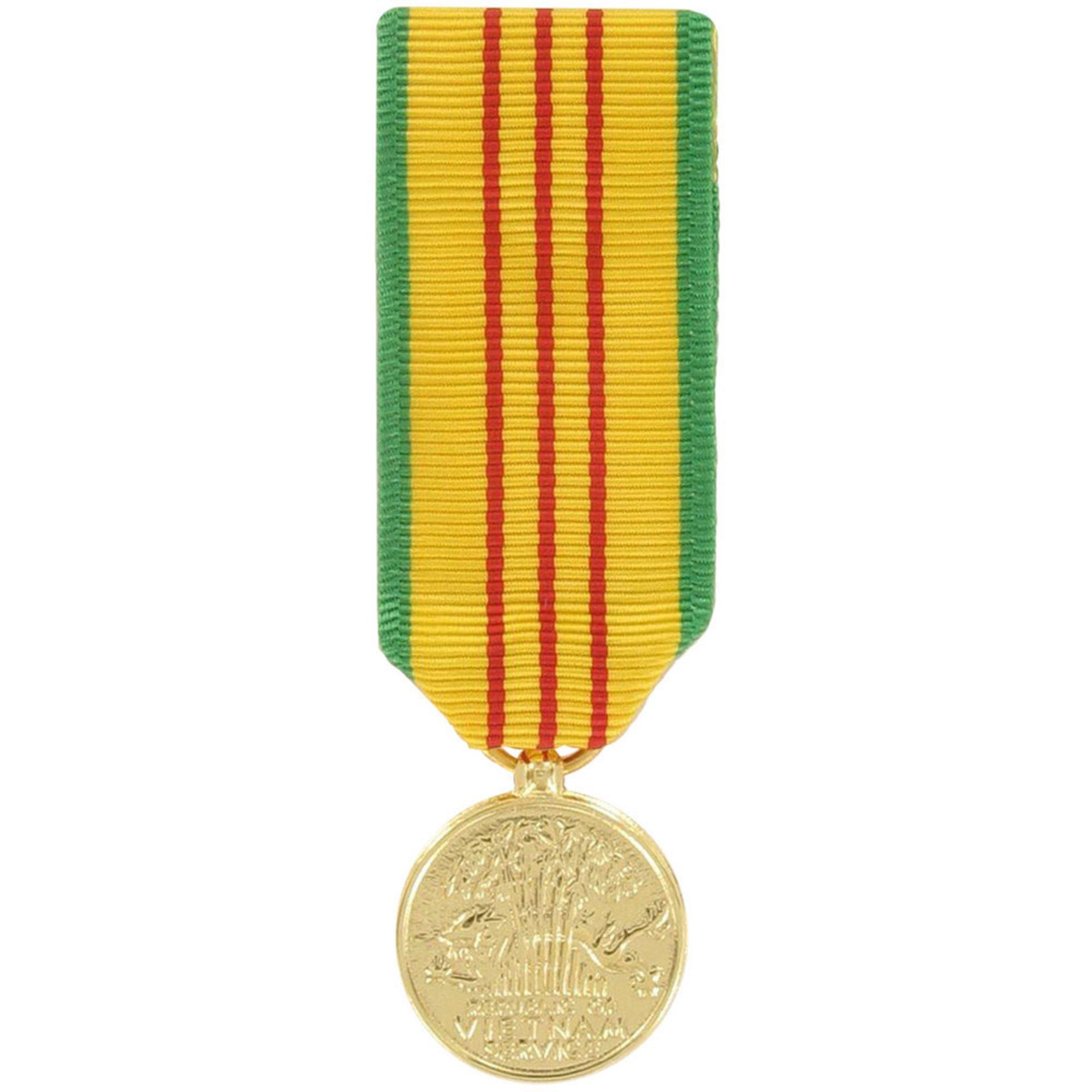 Medal Miniature Anodized Vietnam Service | Anodized Miniature Medals