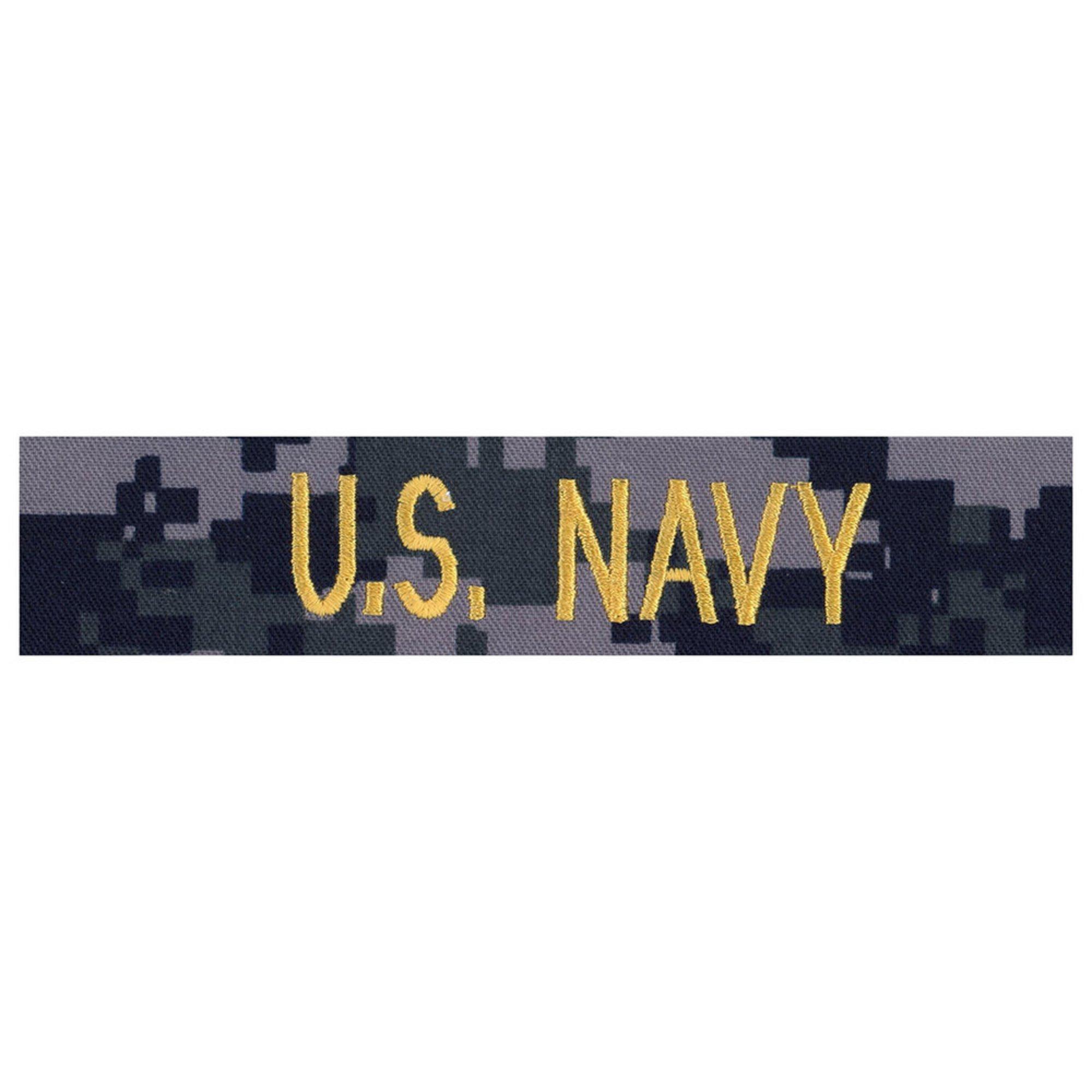 Nwu Type-i Blue Tape U s  Navy Gold | Branch Of Service