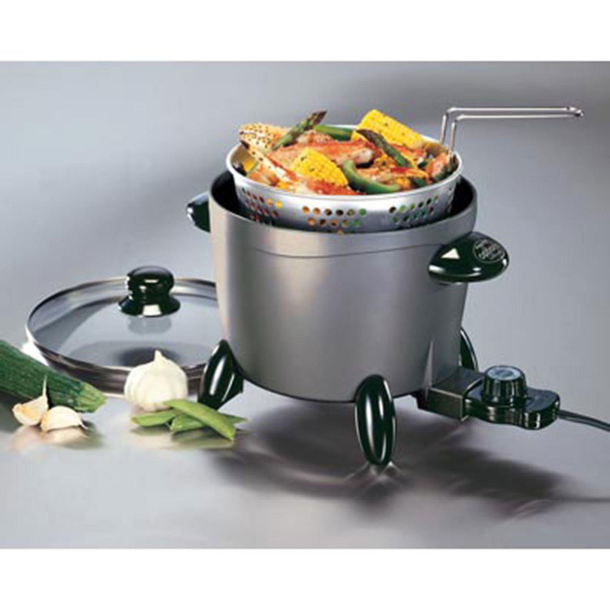 Presto options multi cooker steamer 06003 fryers for for Multi cooker