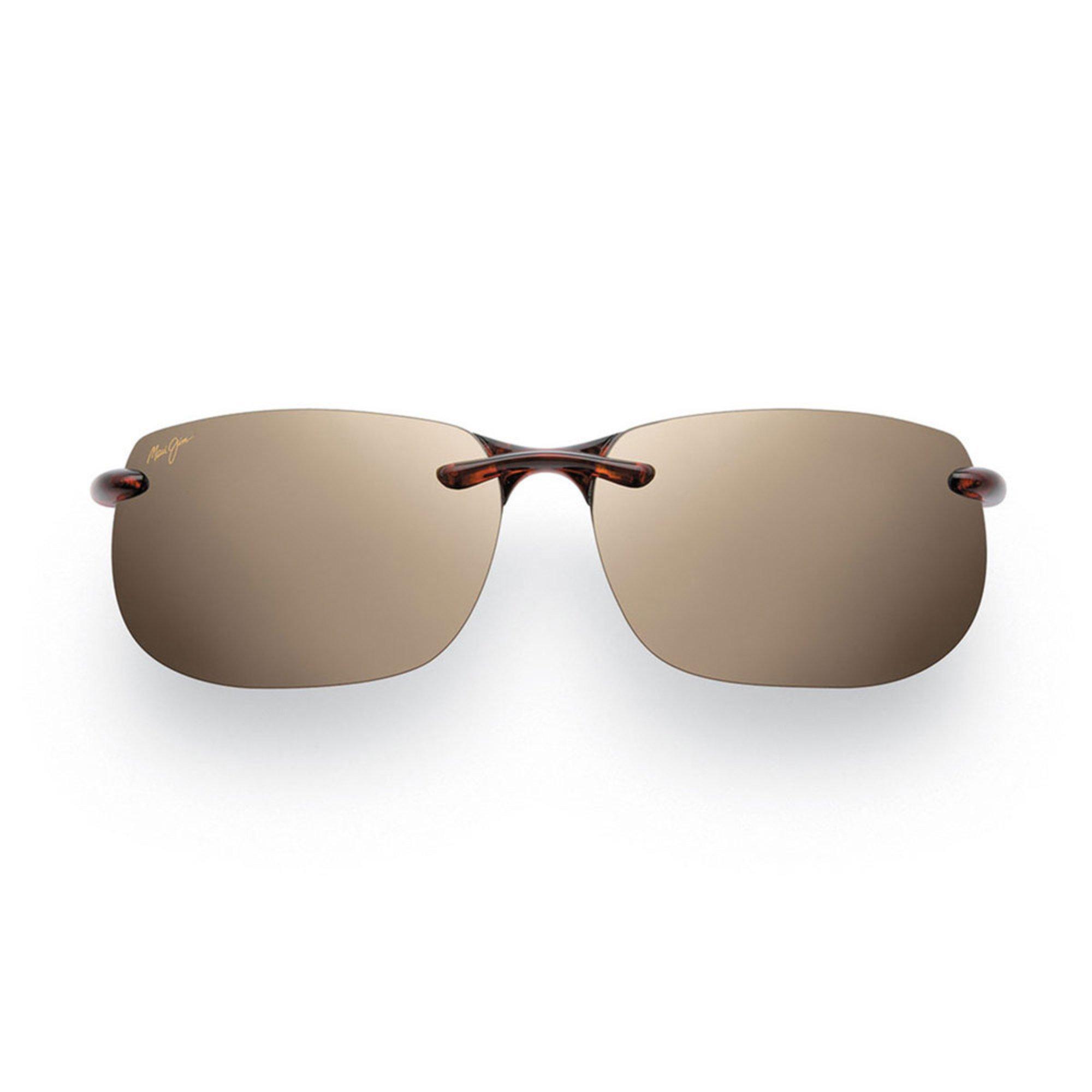 2f7f2f9755a9 Maui Jim Men's Banyans Tortoise Rimless Sunglasses | Men's ...