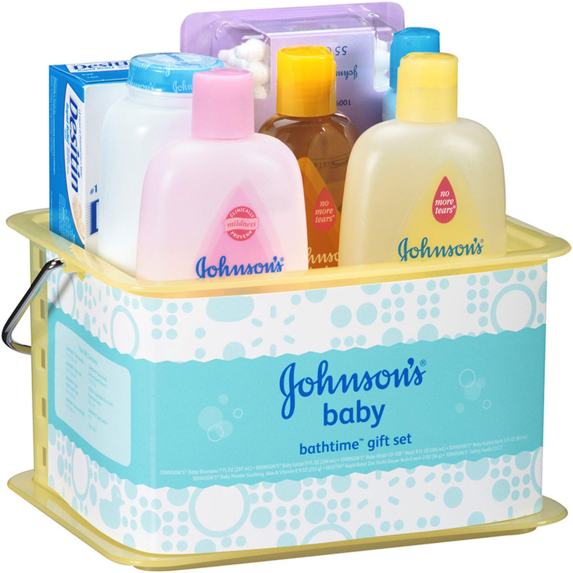 Baby Gift Sets Us : Johnson s baby bathtime gift set sets