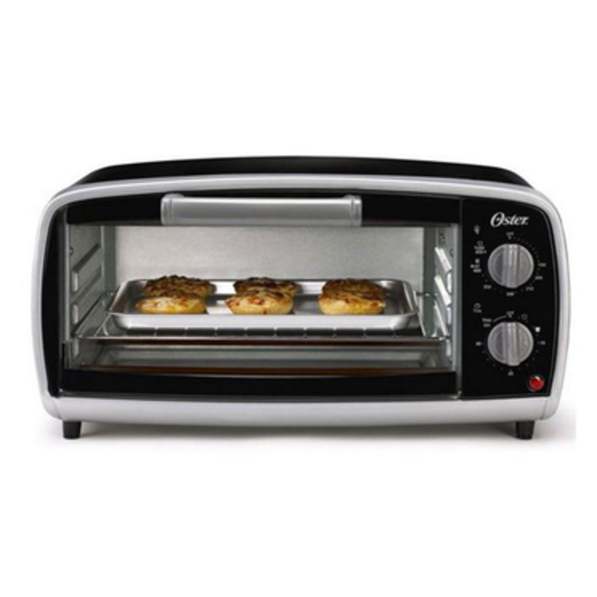 Oster 4 Slice Toaster Oven Tssttvvg01 Toasters