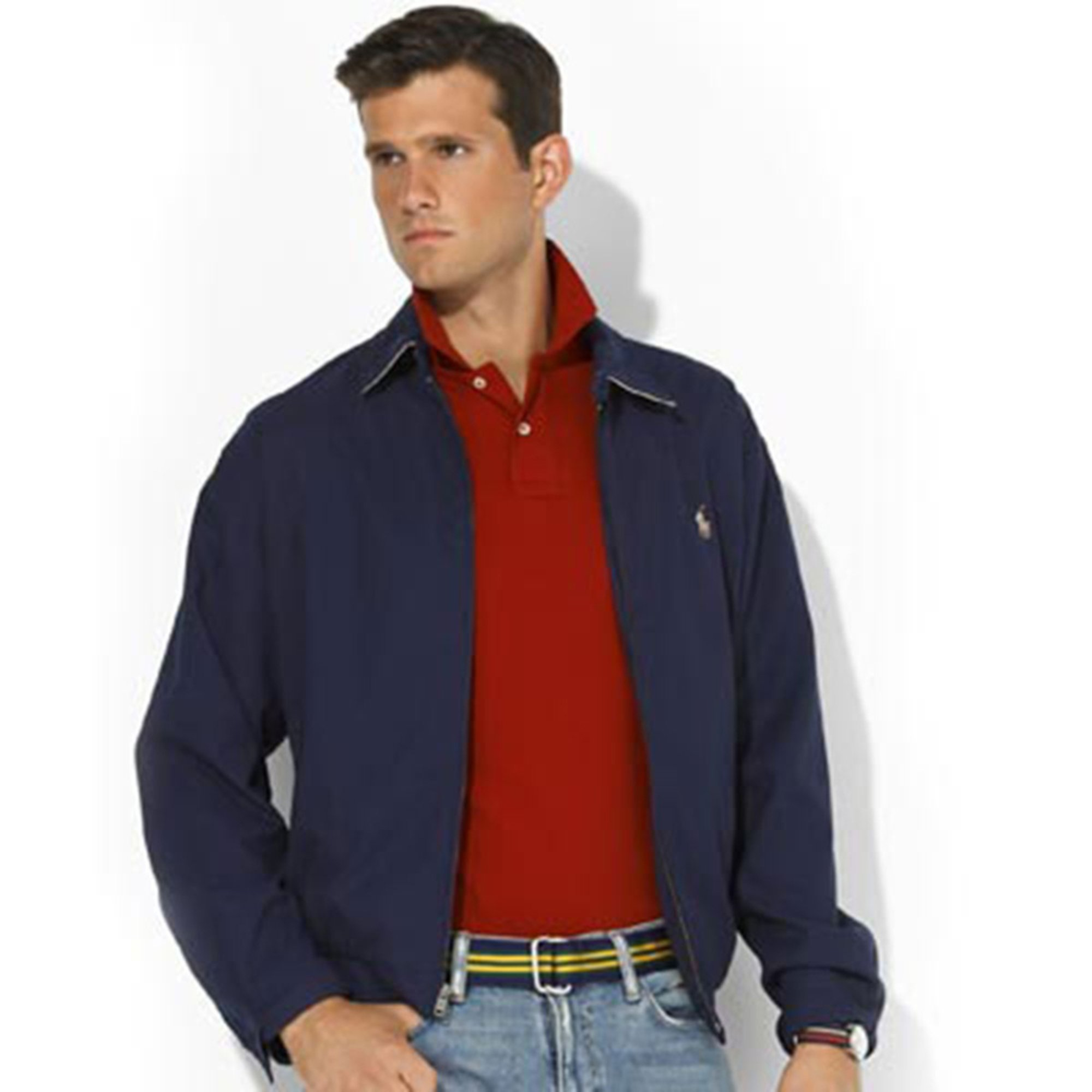 826690104b Polo Ralph Lauren Bi-Swing Windbreaker Jacket