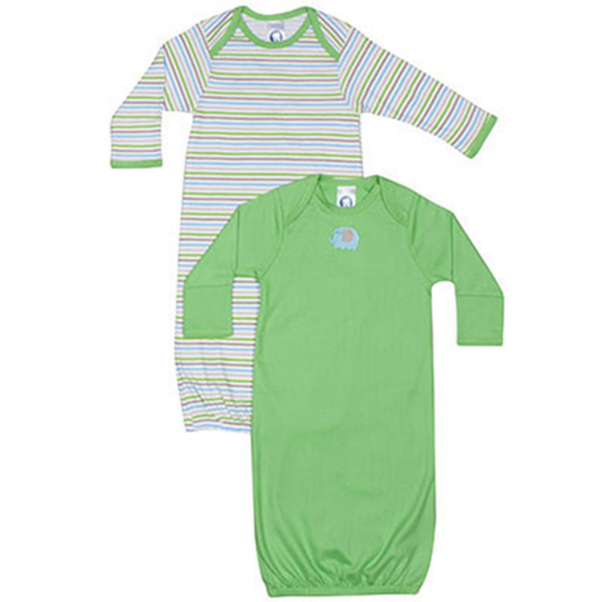 Gerber Baby Boys\' 2-pack Gown | Baby Boys\' Sleepwear | Baby, Kids ...