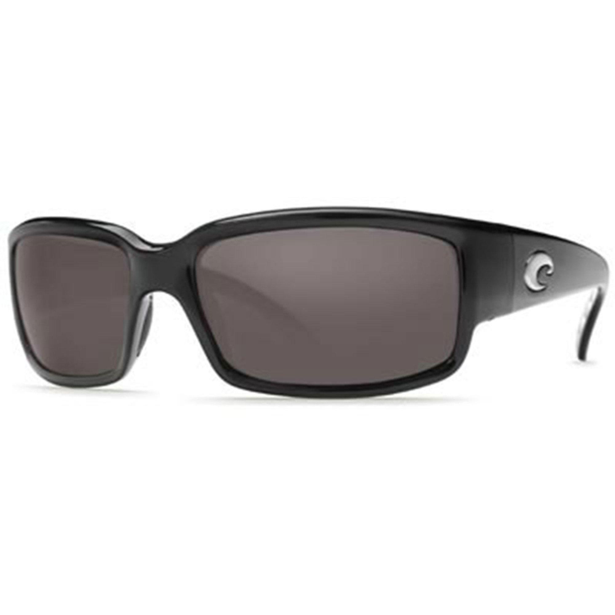 86cd8472ed4 Costa del Mar. Costa Del Mar Unisex Caballito Shiny Black Frame Polarized  Sunglasses ...