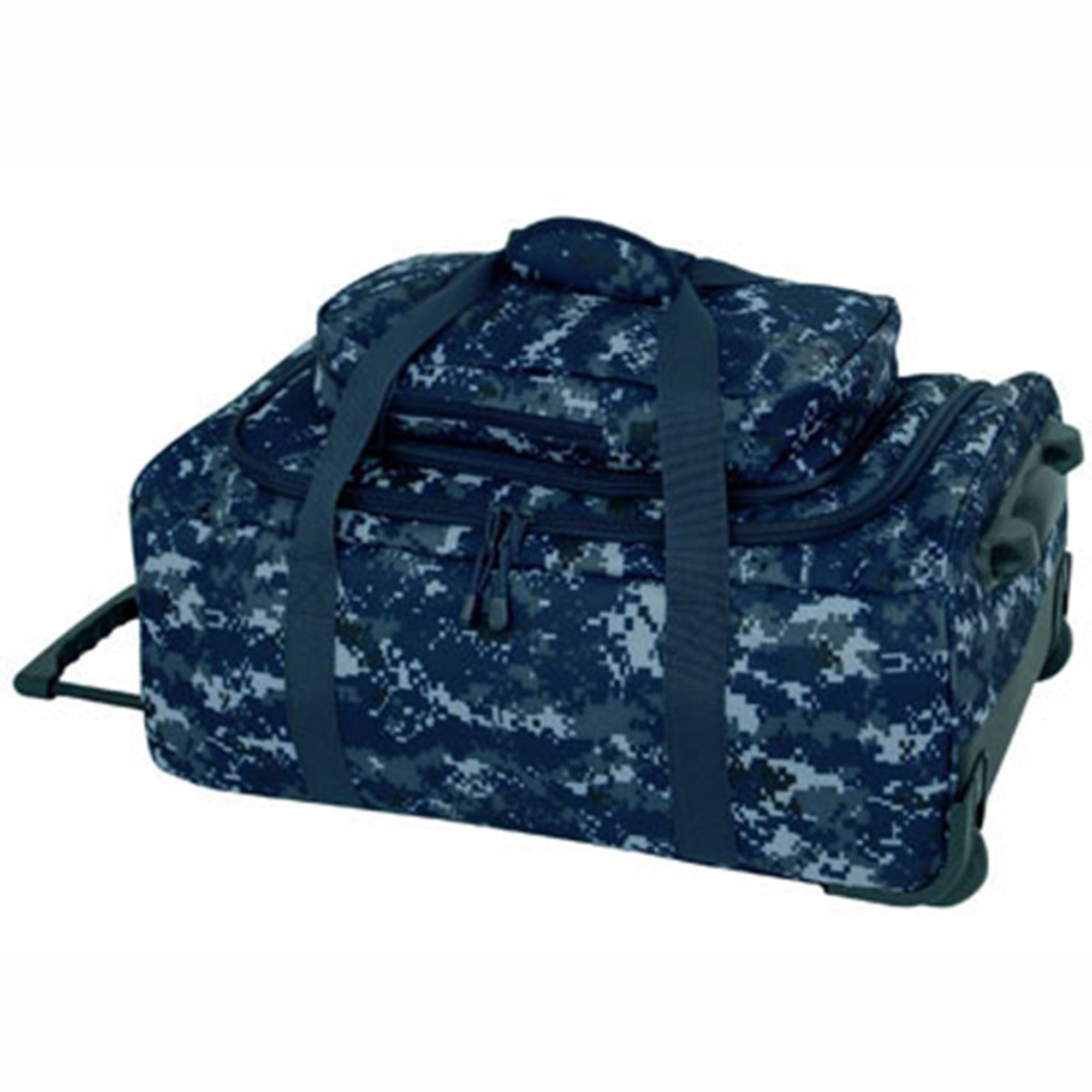 mercury luggage mercury luggage usn digital wheeled deployment bag ...
