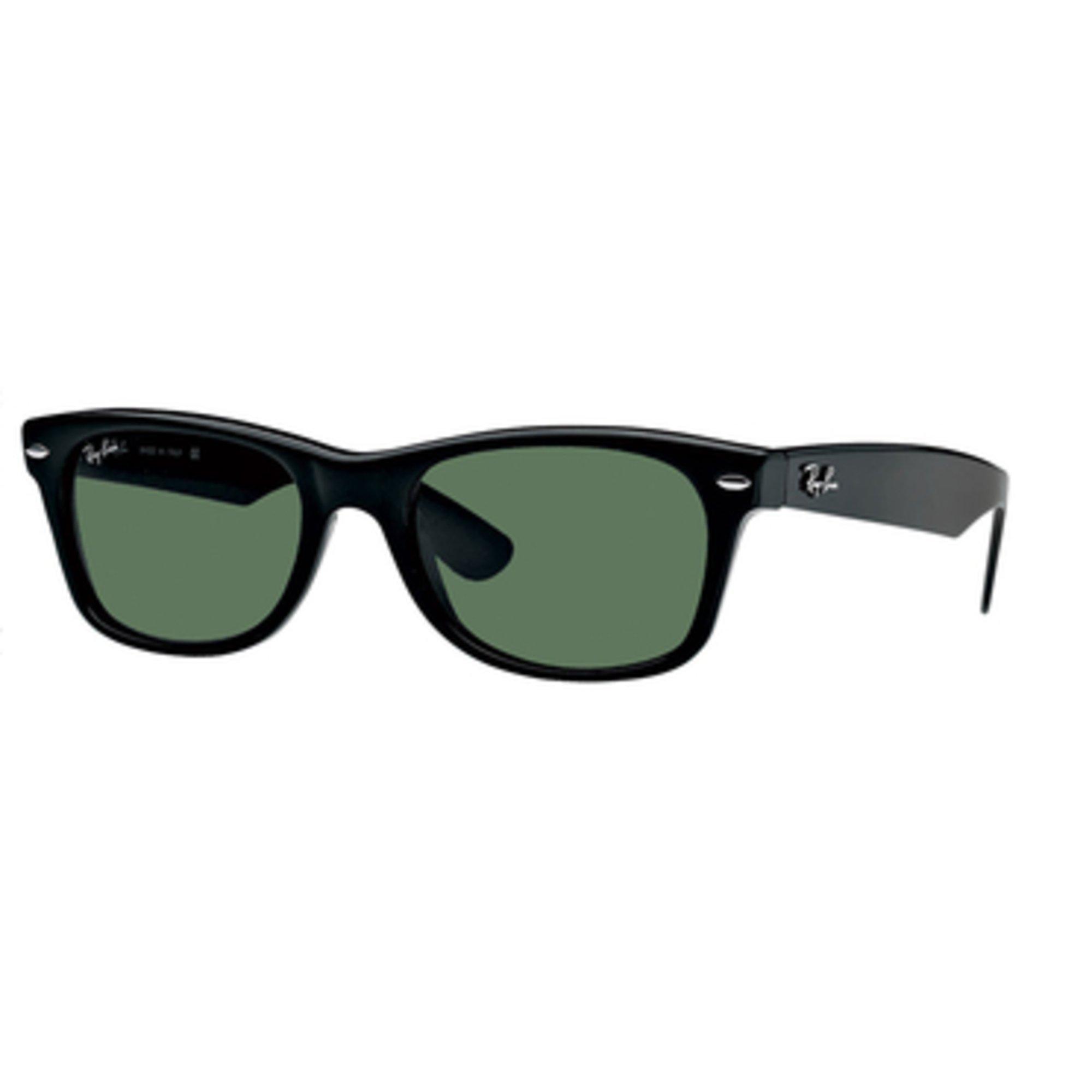 a1e2d827bf8 Ray-Ban. Ray-Ban Unisex Wayfarer Classic Polarized Sunglasses Black Green  ...