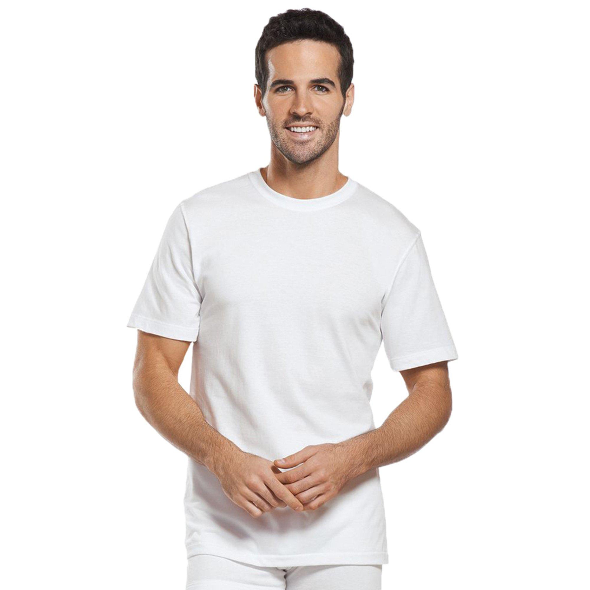 9ac1da1b Jockey Men's Tall Man Crew Neck T-shirt 2-pack - White | Men's ...