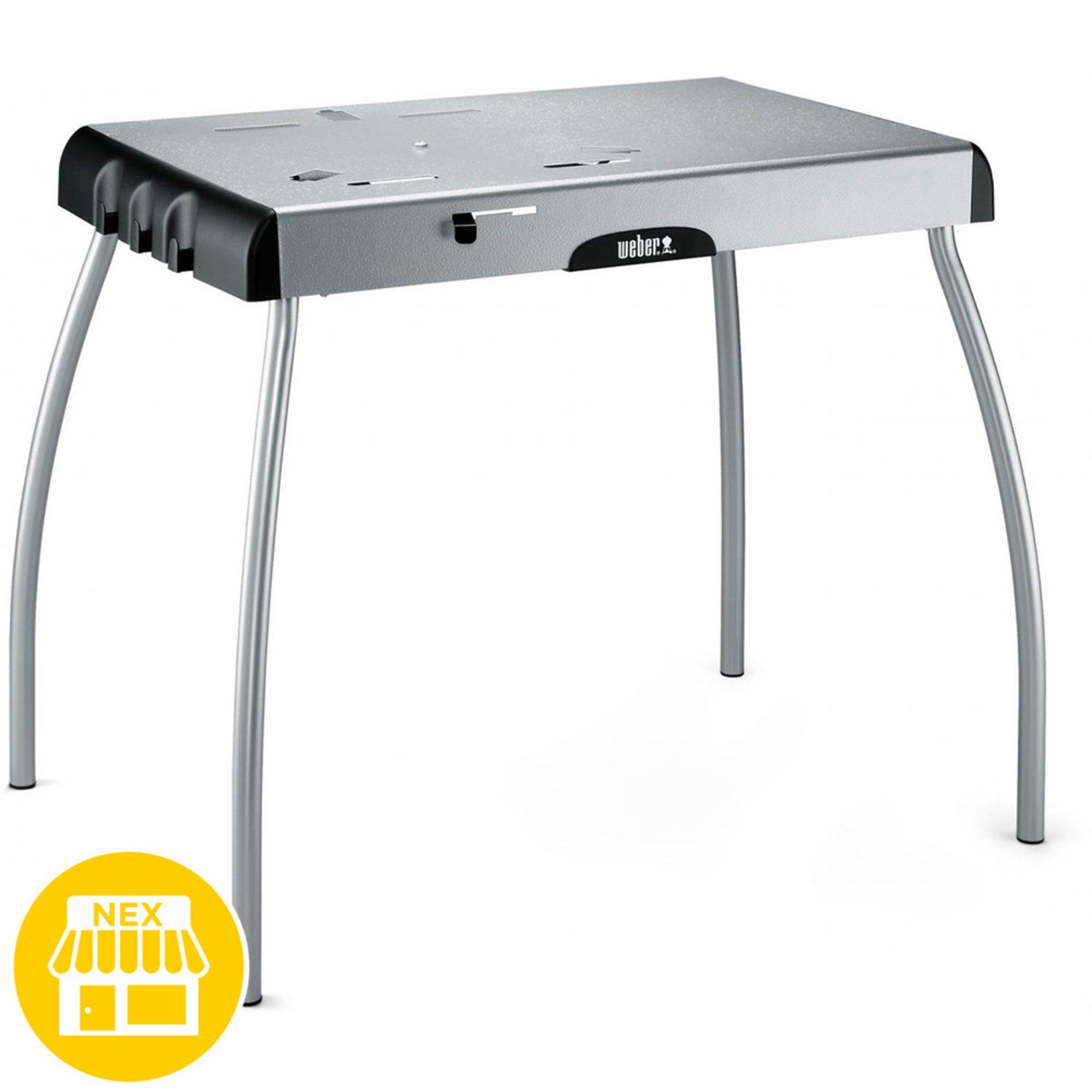 Weber Smokey Joe Table.Weber Portable Table Fits Jumbo Joe Smokey Joe Charcoal Grill