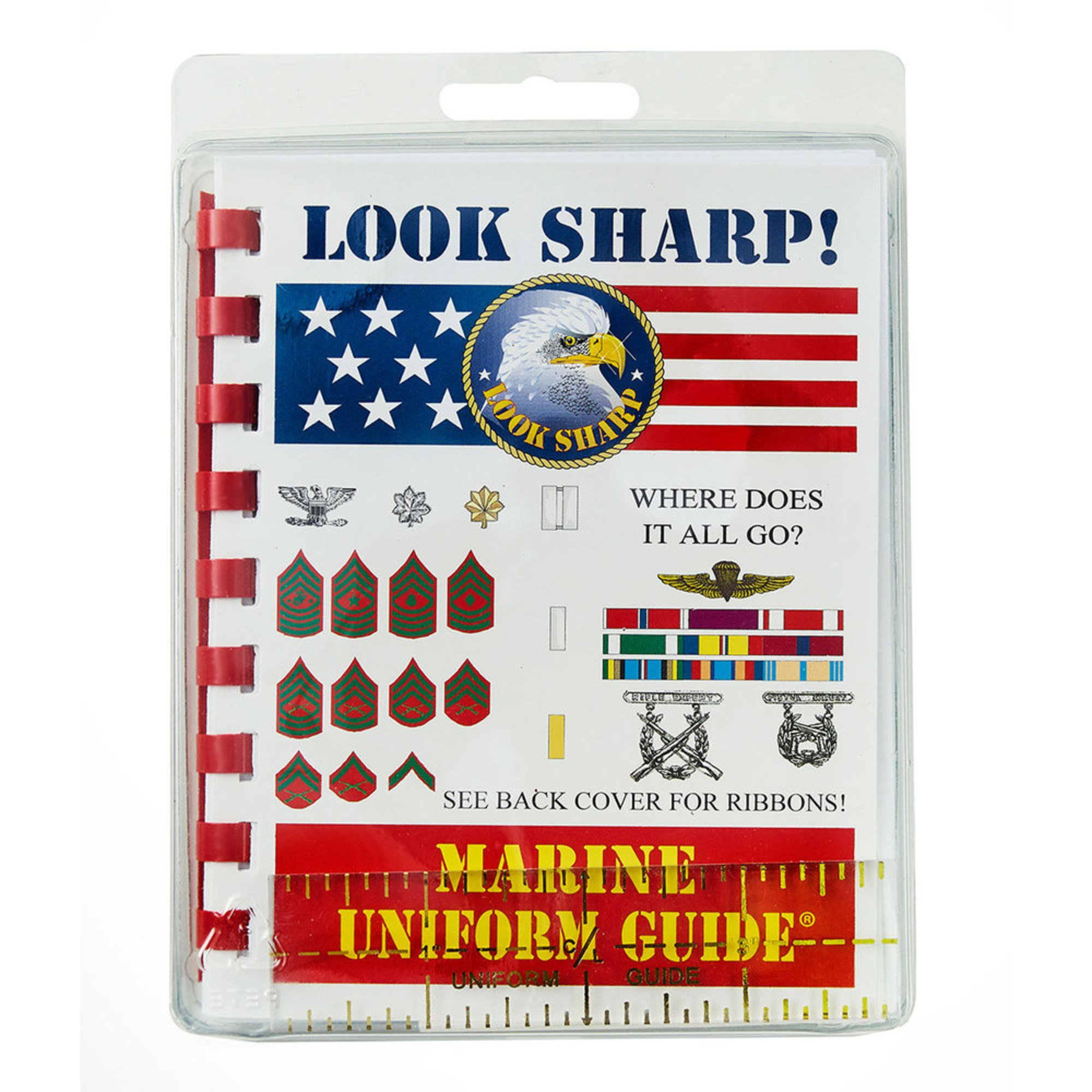 Pocket Guide Usmc Insignia Wear Guide | Guides For Mounting Ribbons