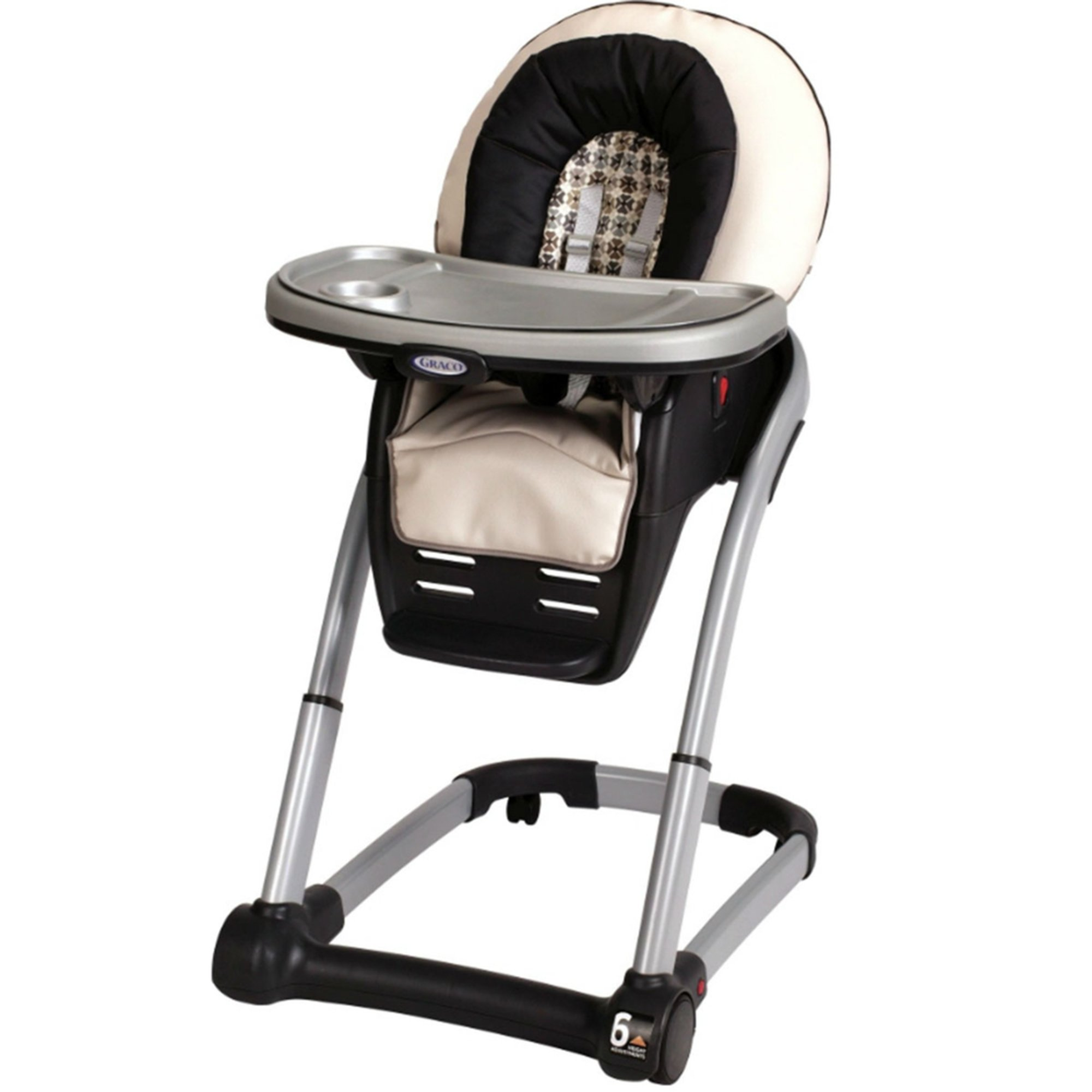 Space saver high chair boy - Graco Blossom 4 In 1 Highchair Vance