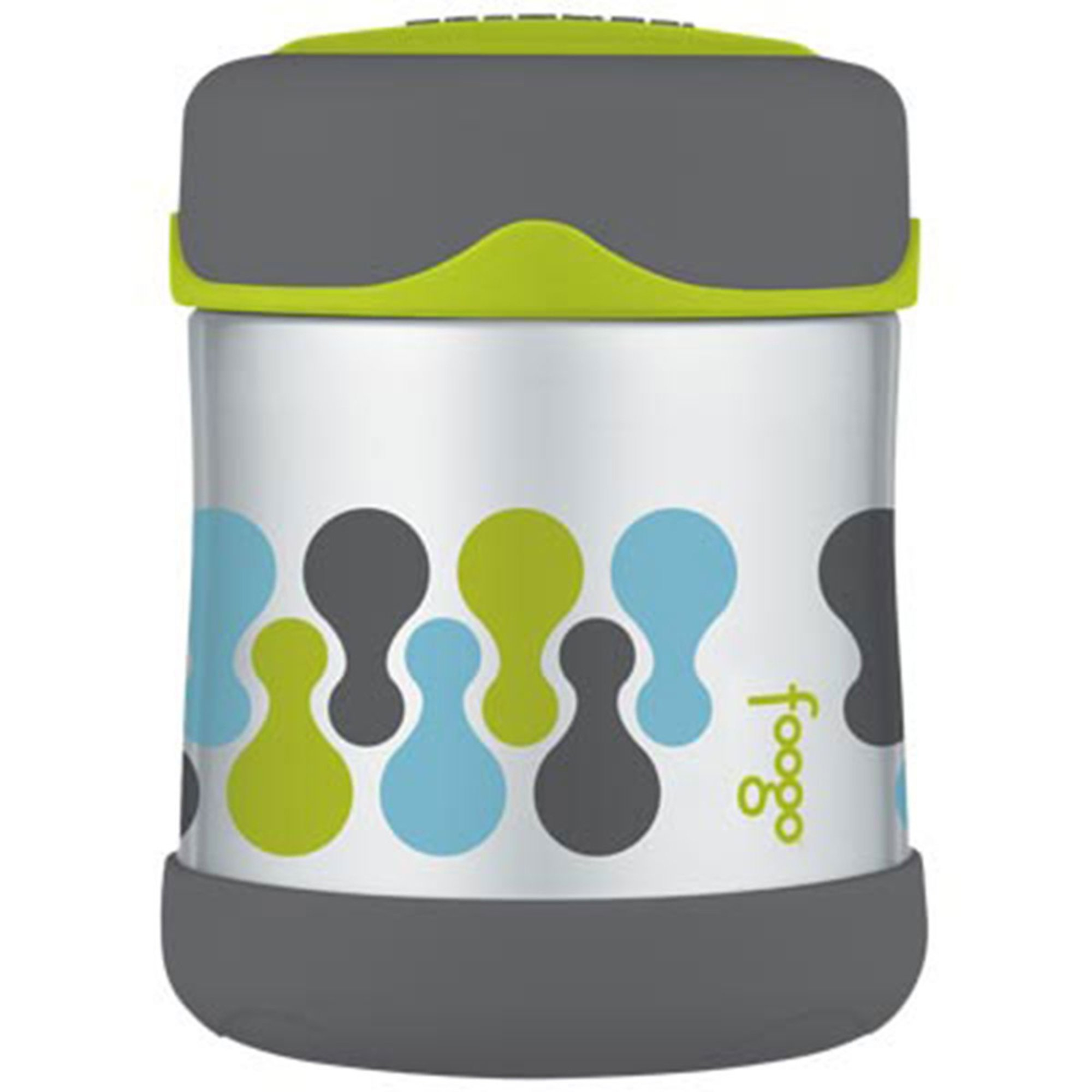 foogo by thermos 10oz stainless food jar cleaning storage organization kids shop your. Black Bedroom Furniture Sets. Home Design Ideas
