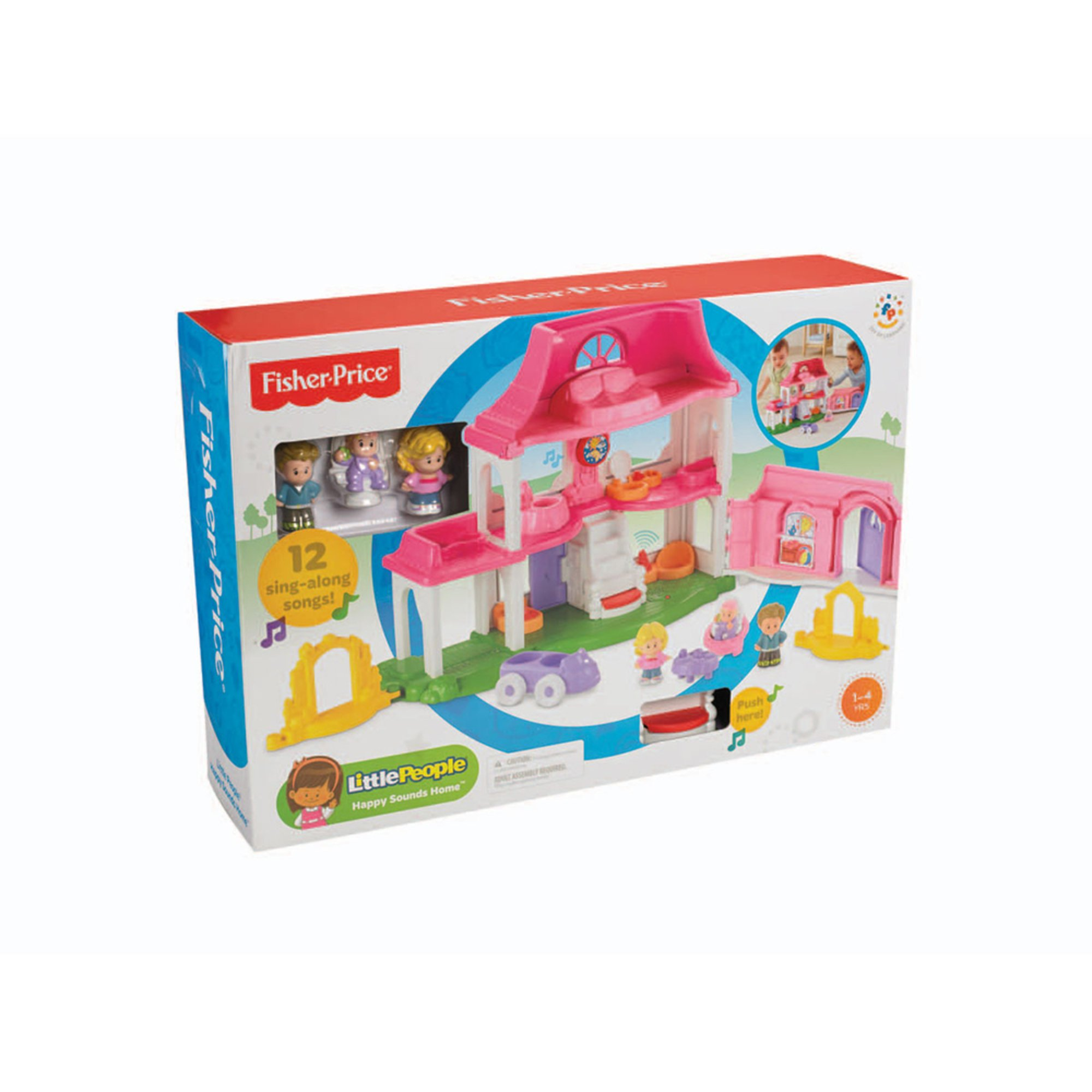 Little People Happy Sounds Home | Toys