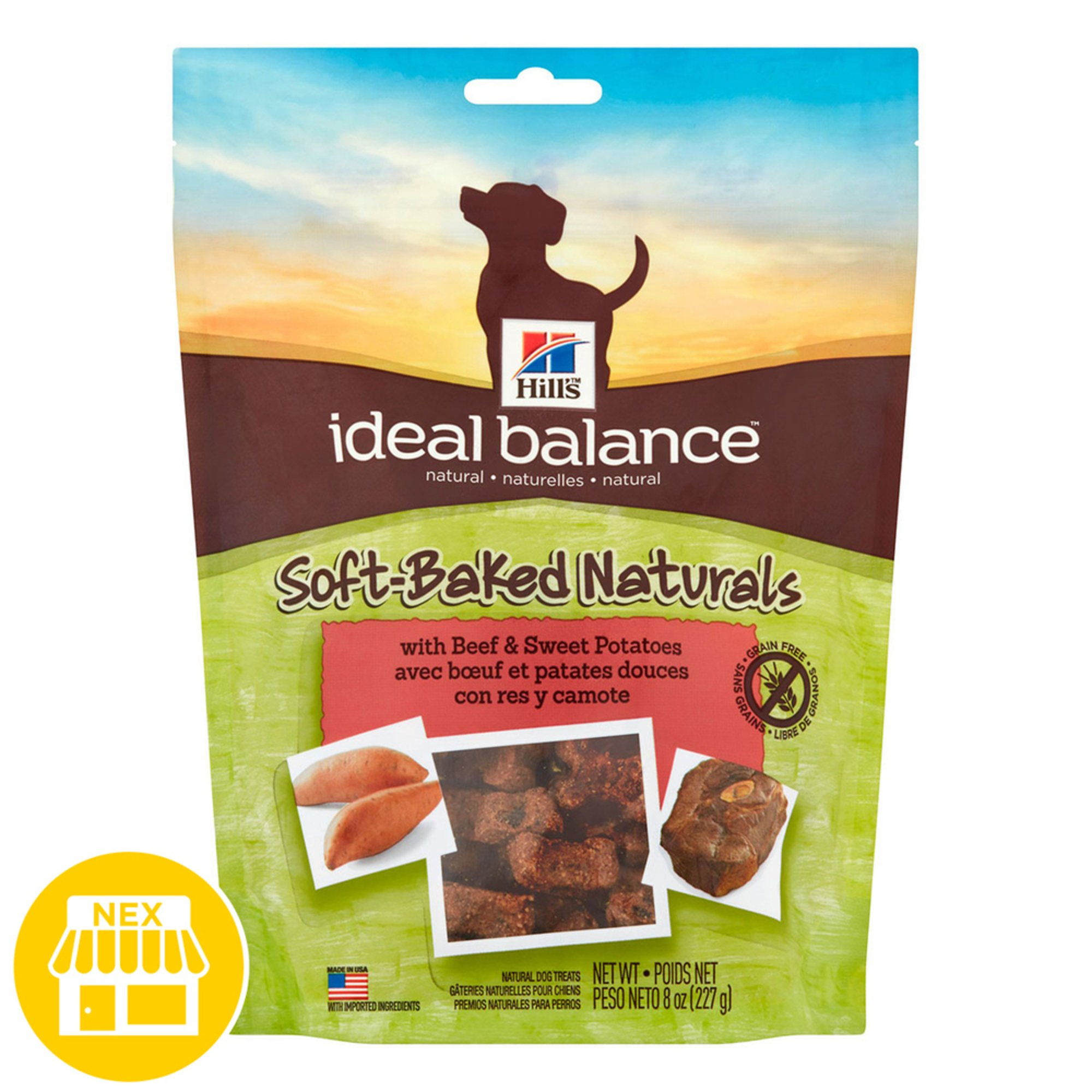 Ideal Balance Dog Food >> Hill S Ideal Balance Baked Naturals With Beef Sweet